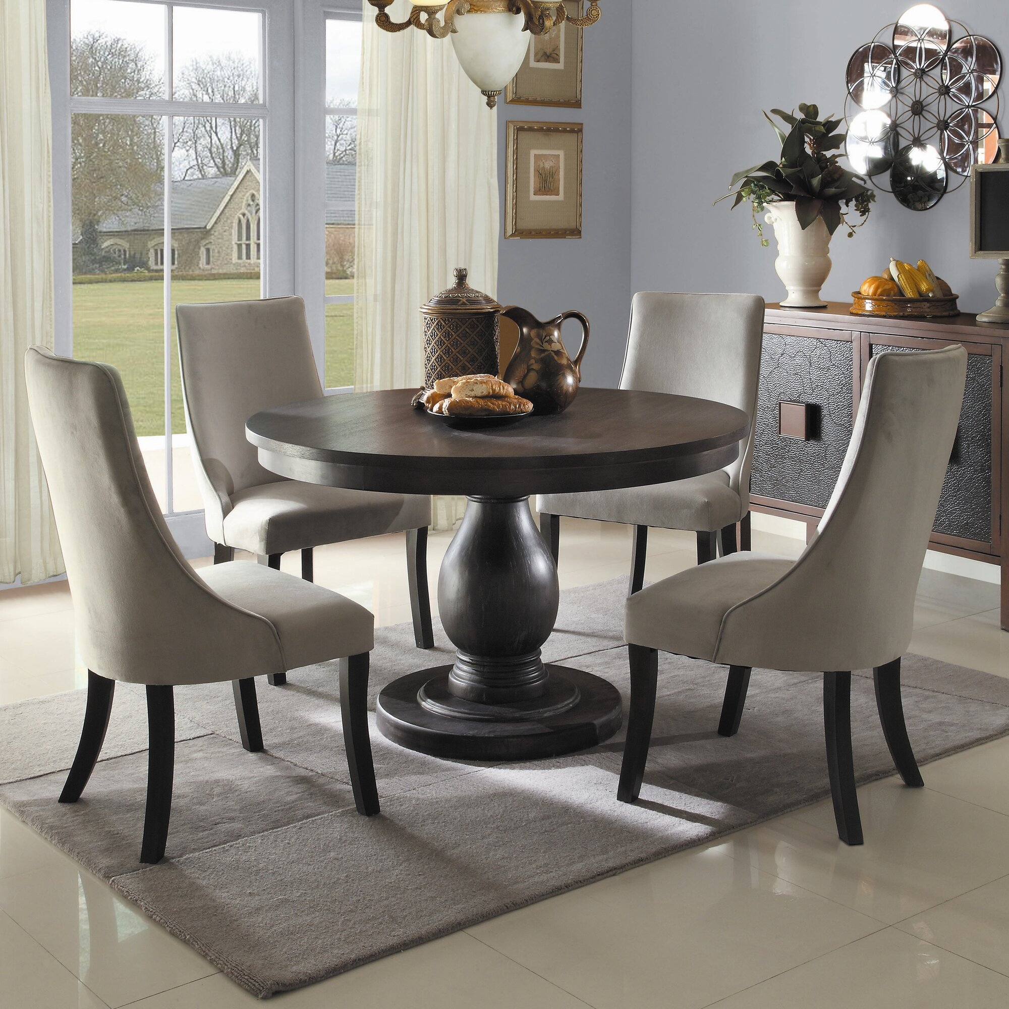 Round country kitchen tables - Round Country Kitchen Tables 3