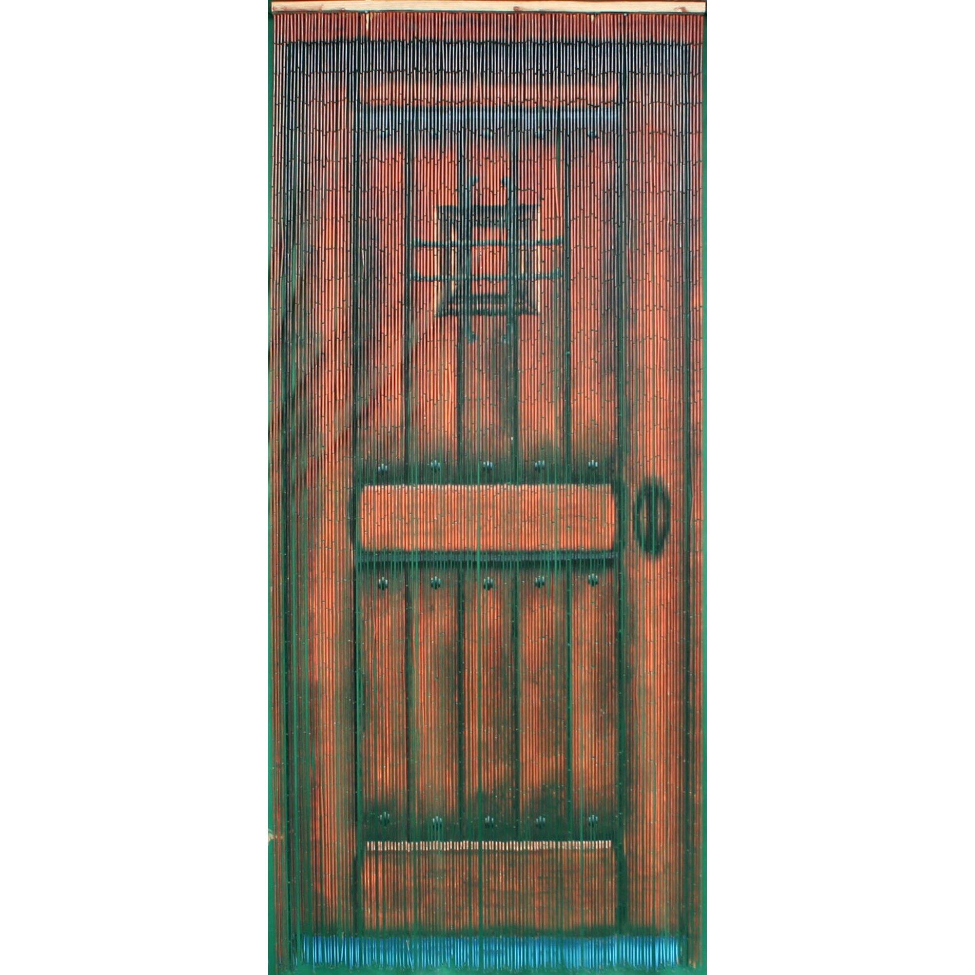 Bead curtain room divider - 78 X 36 Bamboo Beaded Curtain Door Motif Room Divider