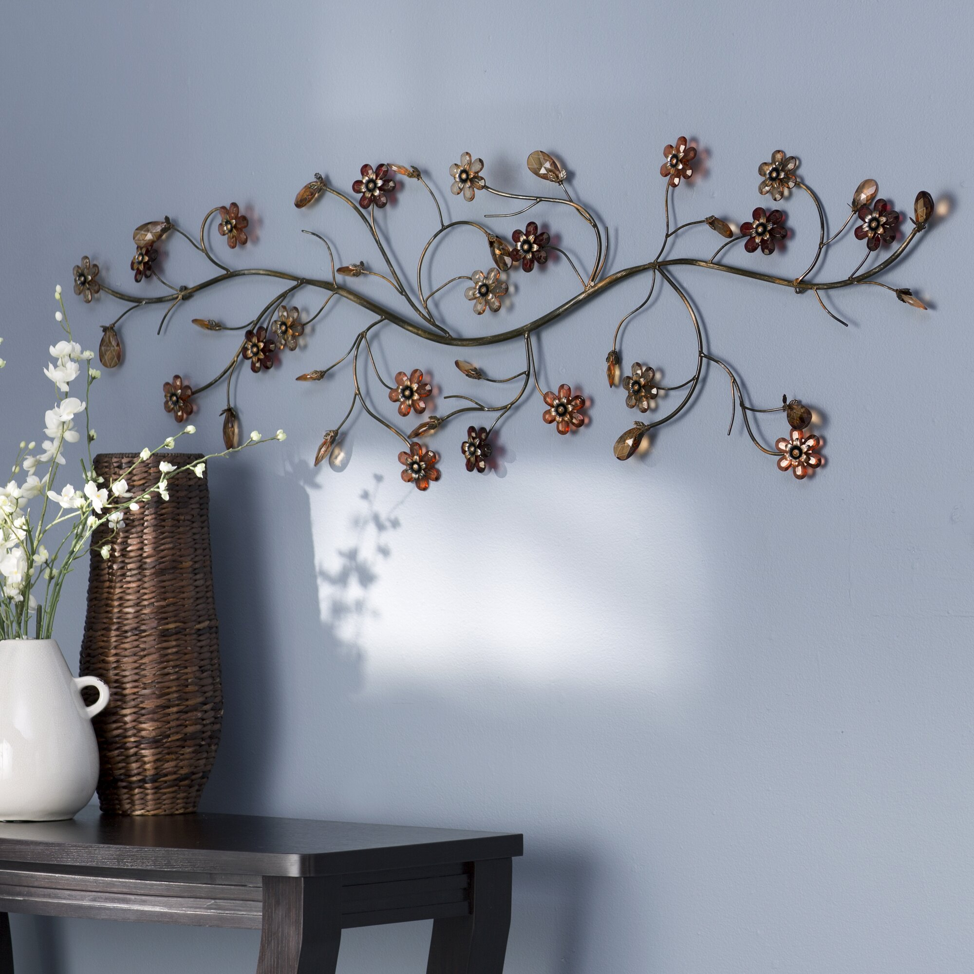 emejing branch wall decor contemporary home design ideas andover mills flower loaded twig wall decor reviews wayfair