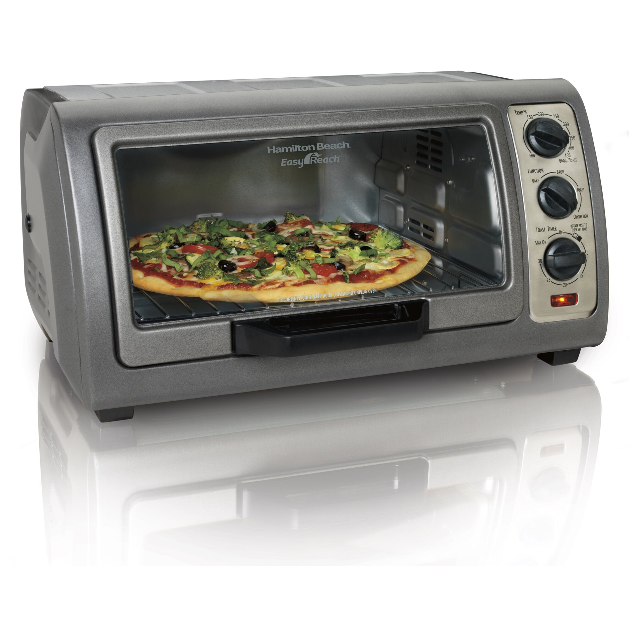Easy Reach Toaster Oven With Convection
