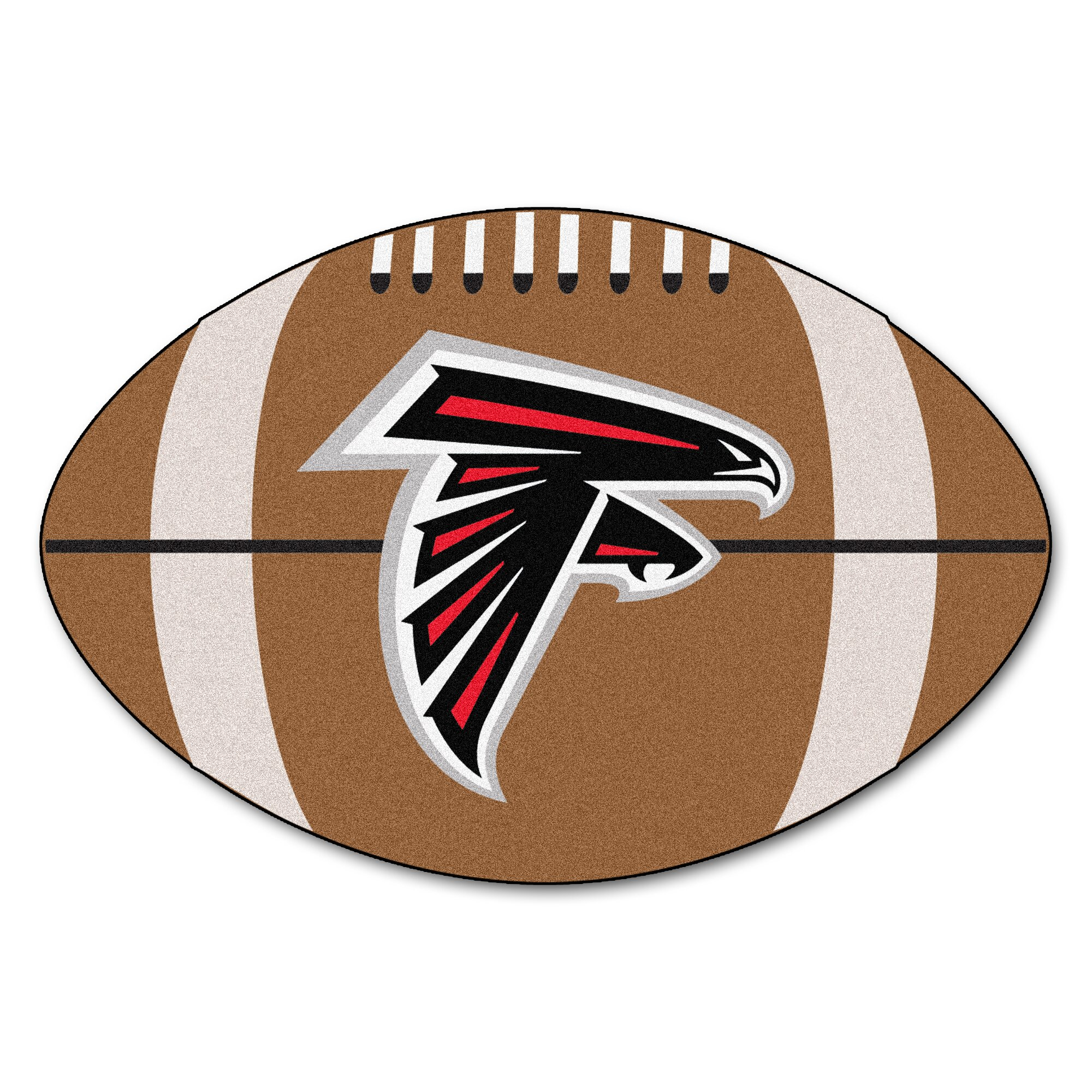 Fanmats Nfl Atlanta Falcons Football Mat Amp Reviews Wayfair