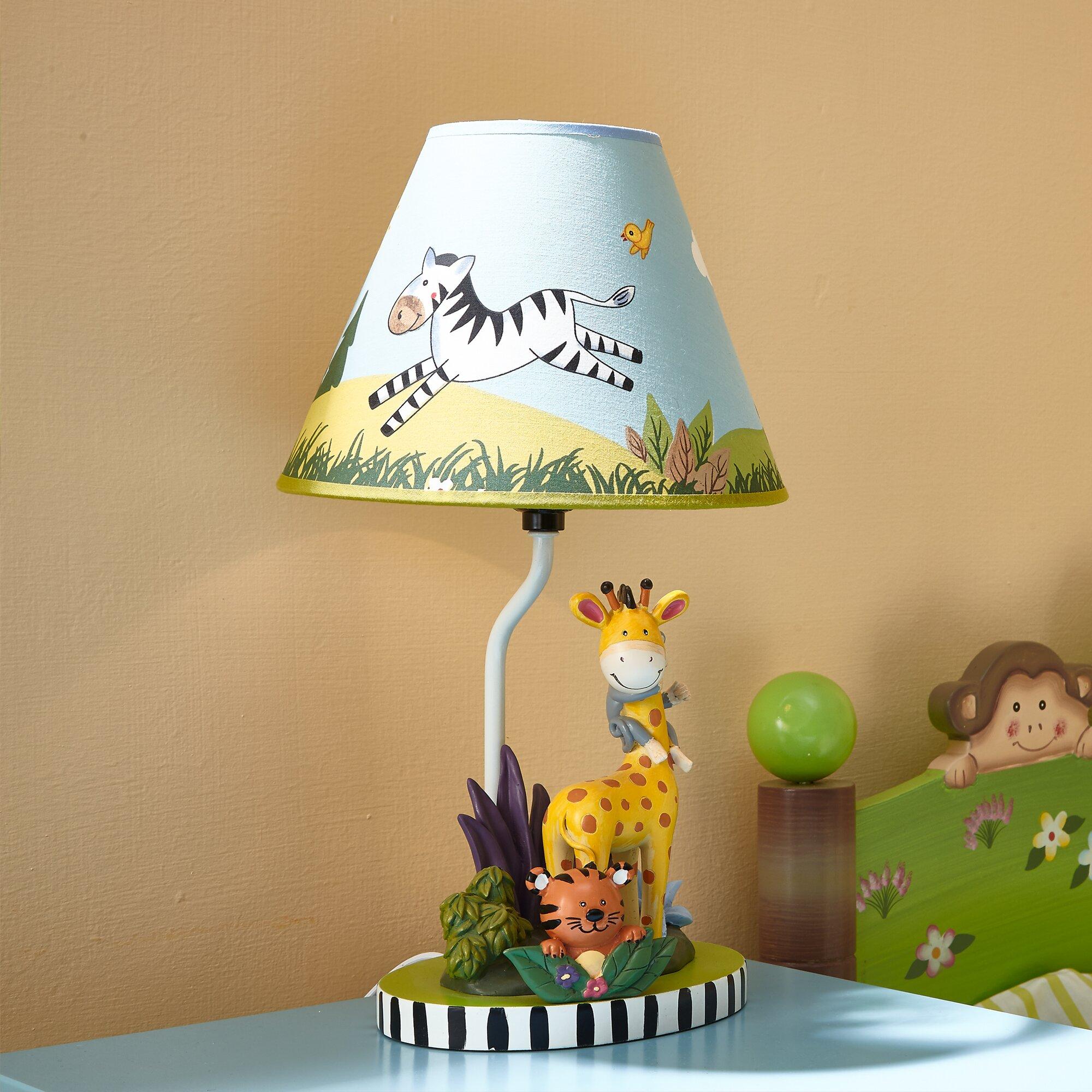 "Fantasy Fields Sunny Safari 15.5"" Table Lamp & Reviews ..."