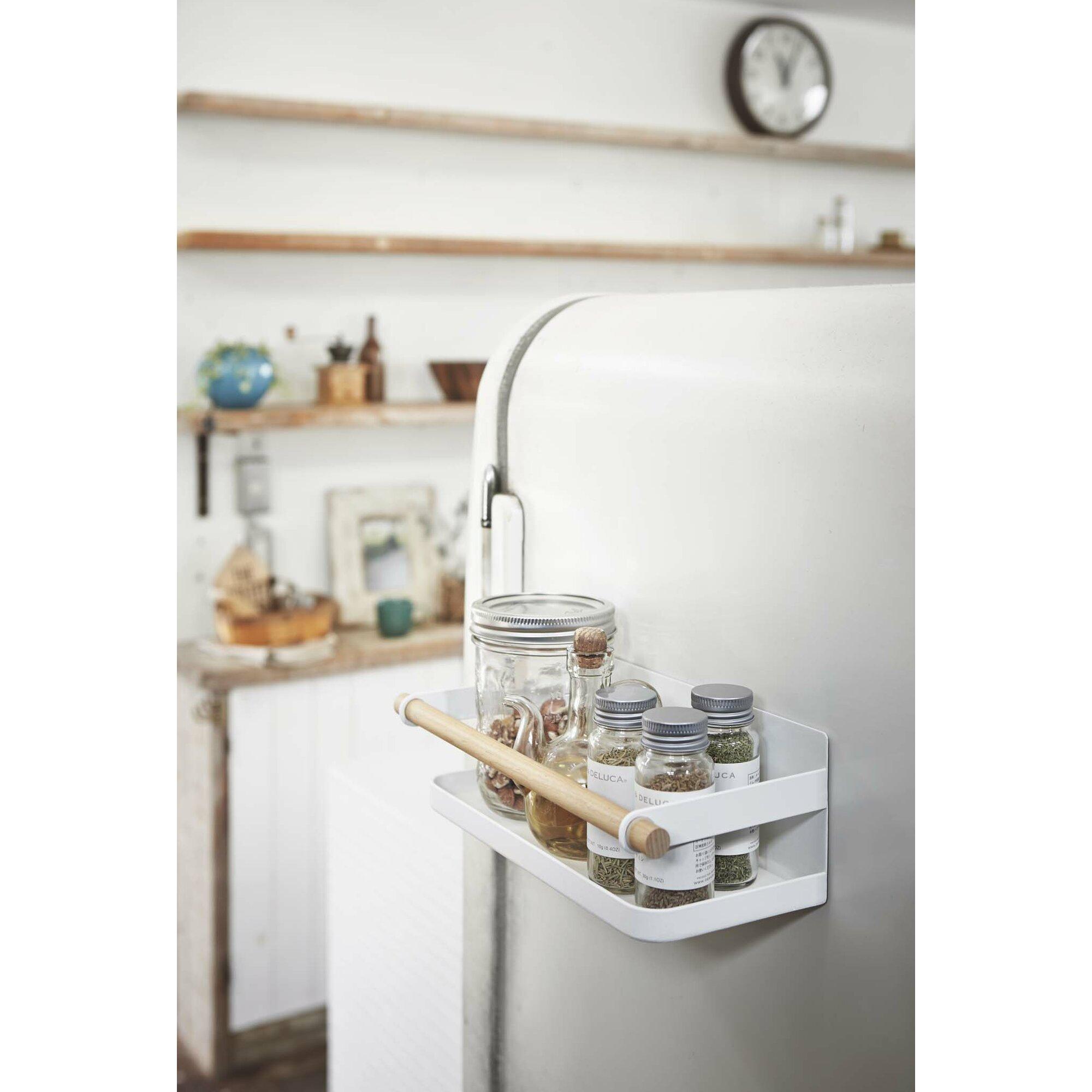 Magnetic spice racks for kitchen - Tosca Magnetic Spice Rack