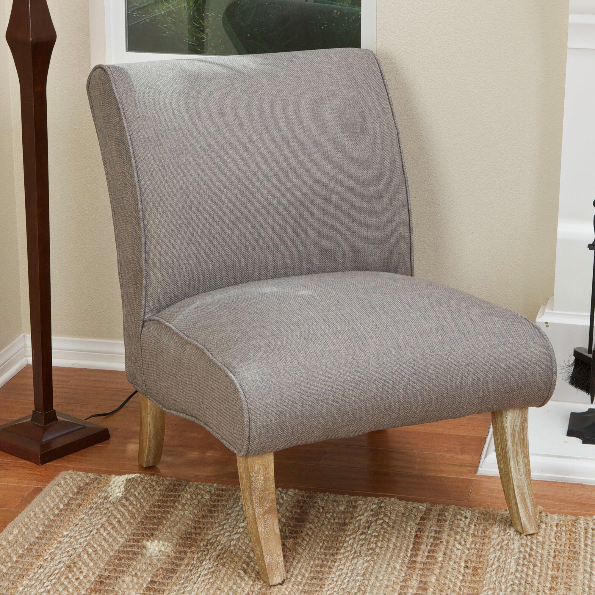 anae fabric slipper chair - Slipper Chairs