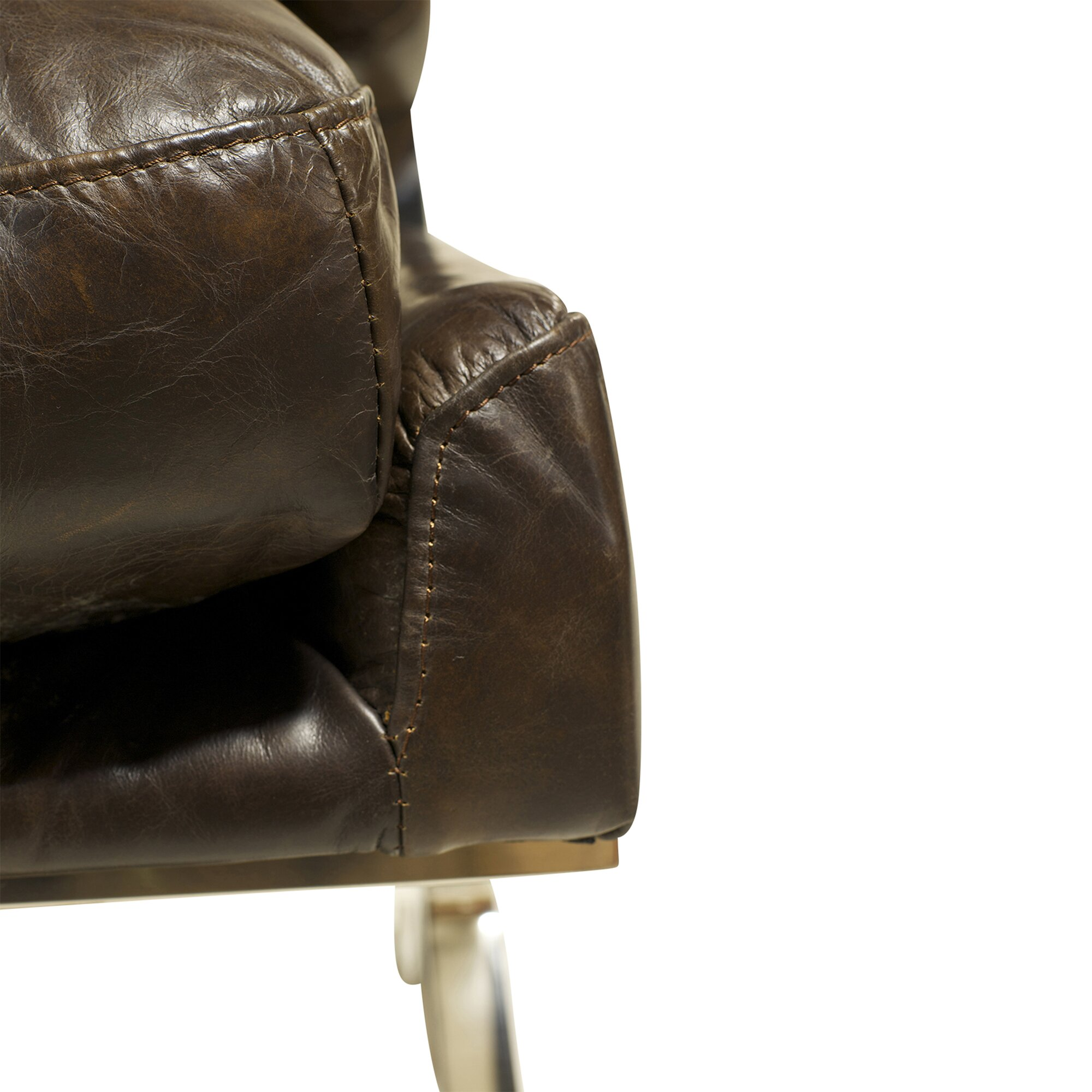 Leather jacket cape town - Capetown Leather Occasional Lounge Chair