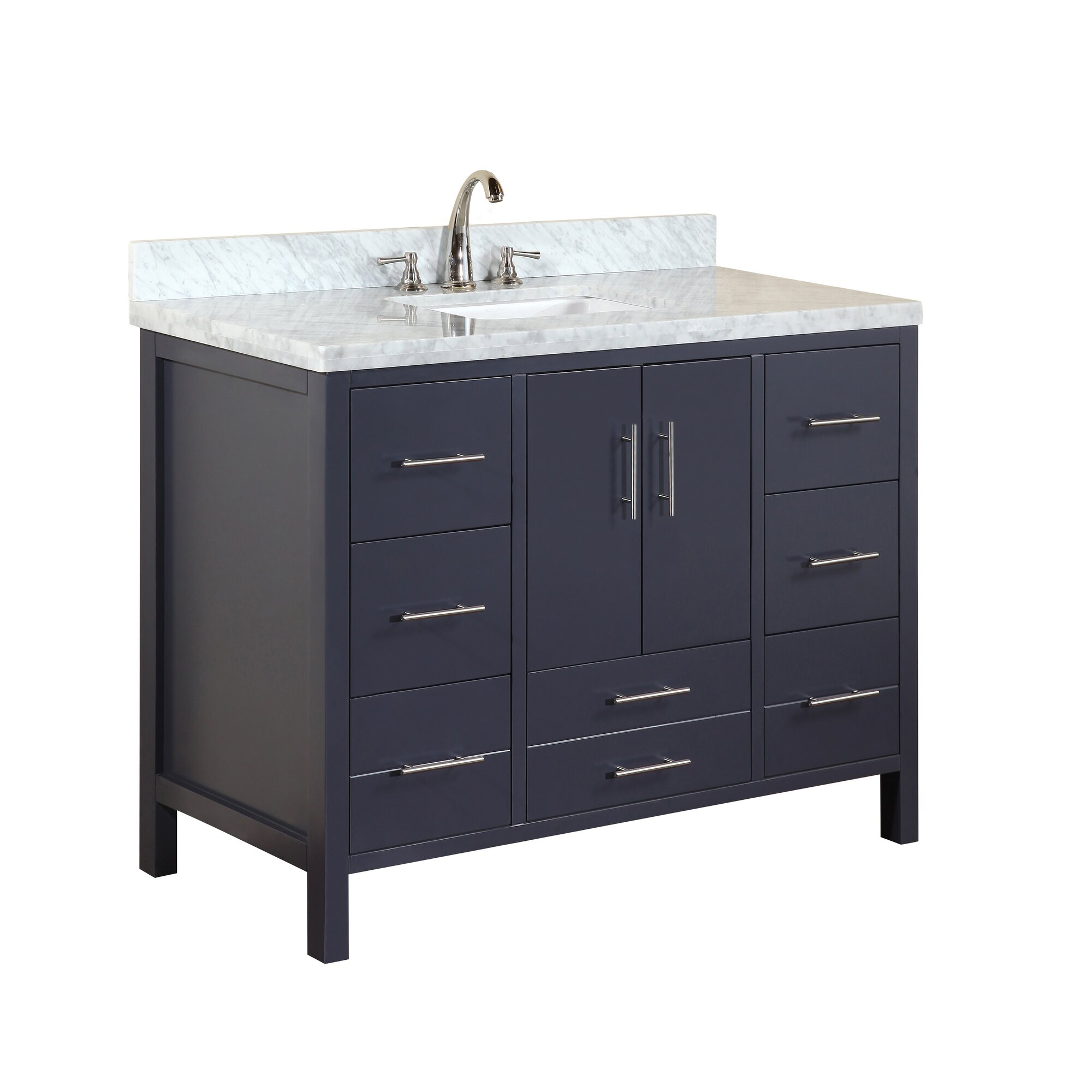Kbc California 48 Single Bathroom Vanity Set Reviews