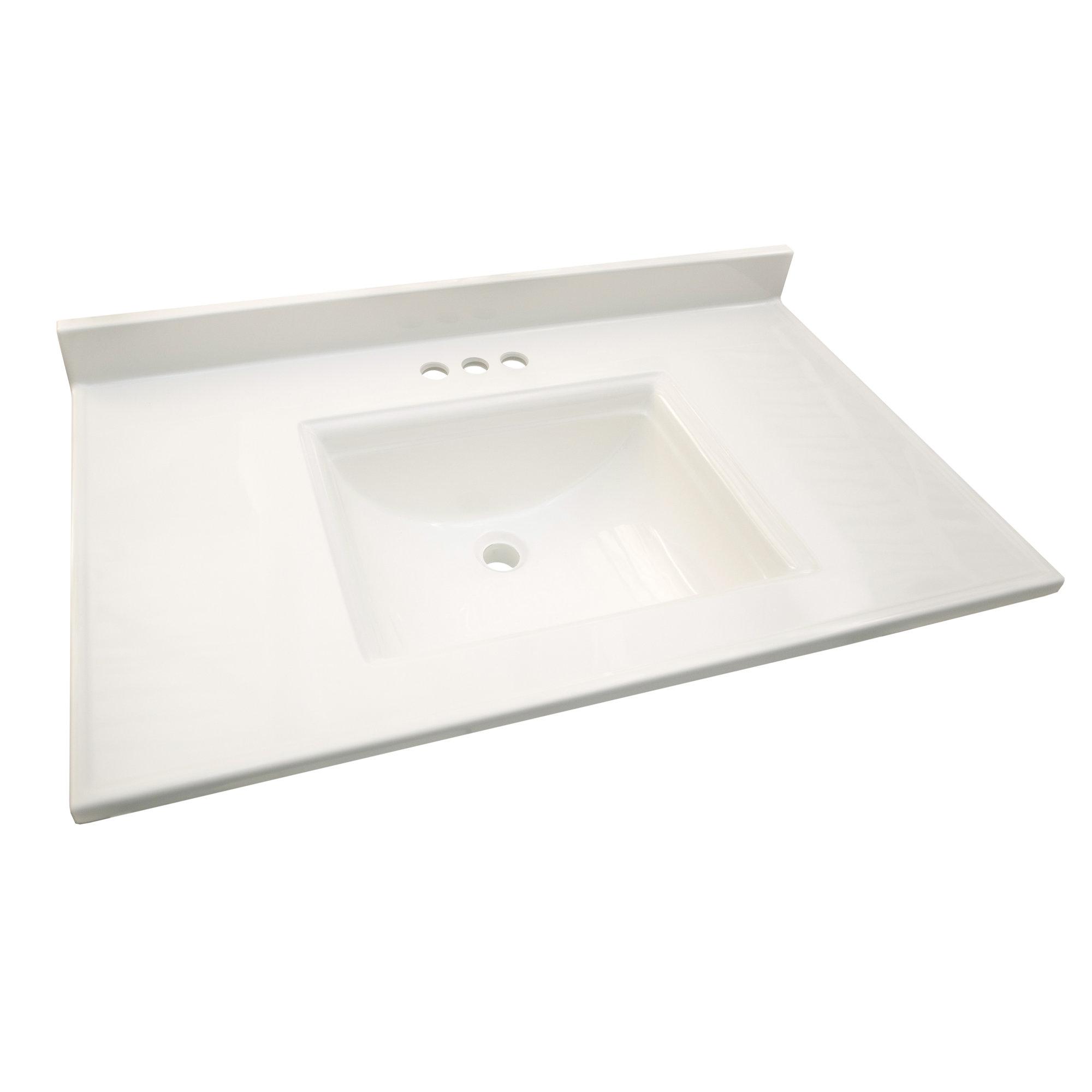 Camilla 37 Single Bathroom Vanity Top