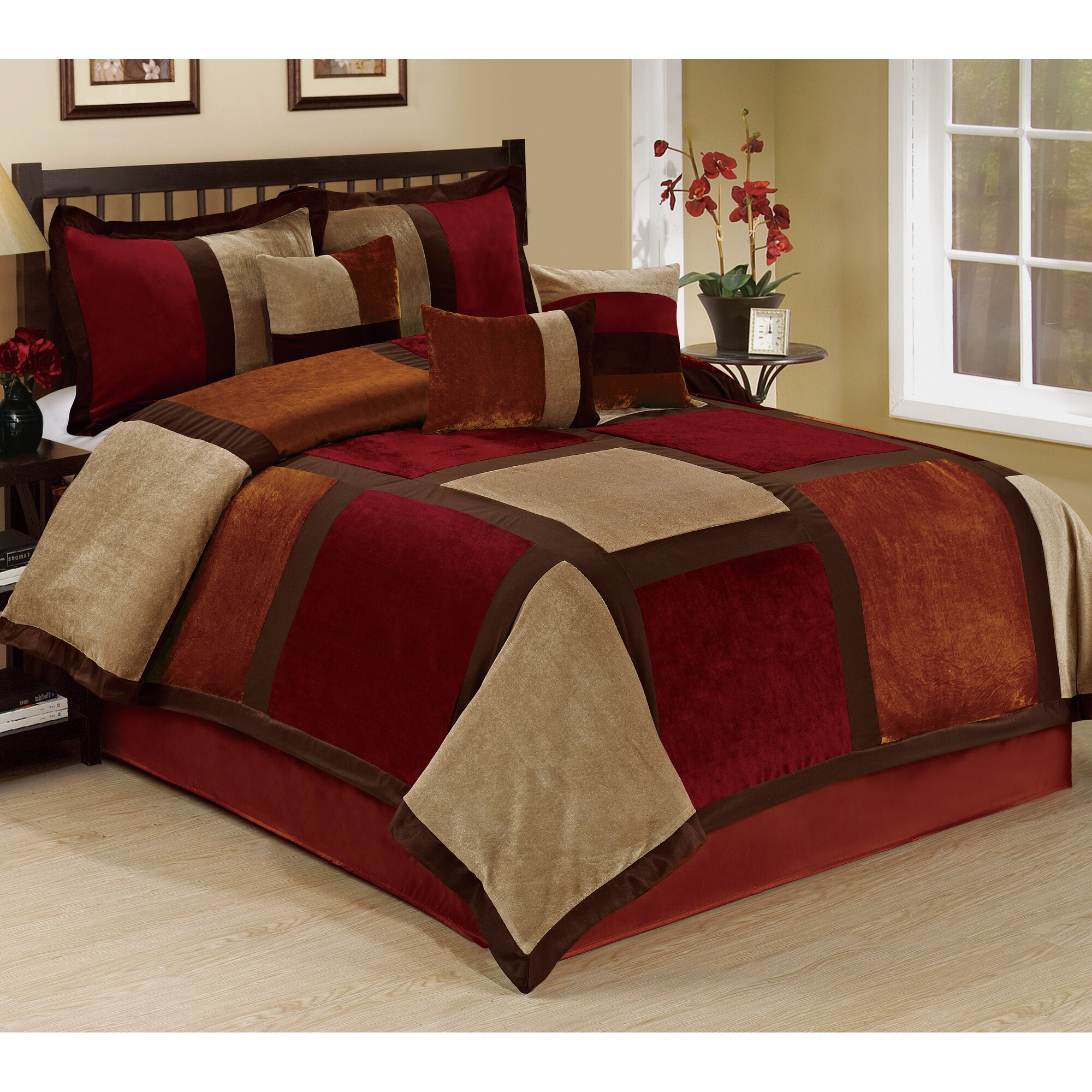 Homechoice International Group Spencer 7 Piece Comforter