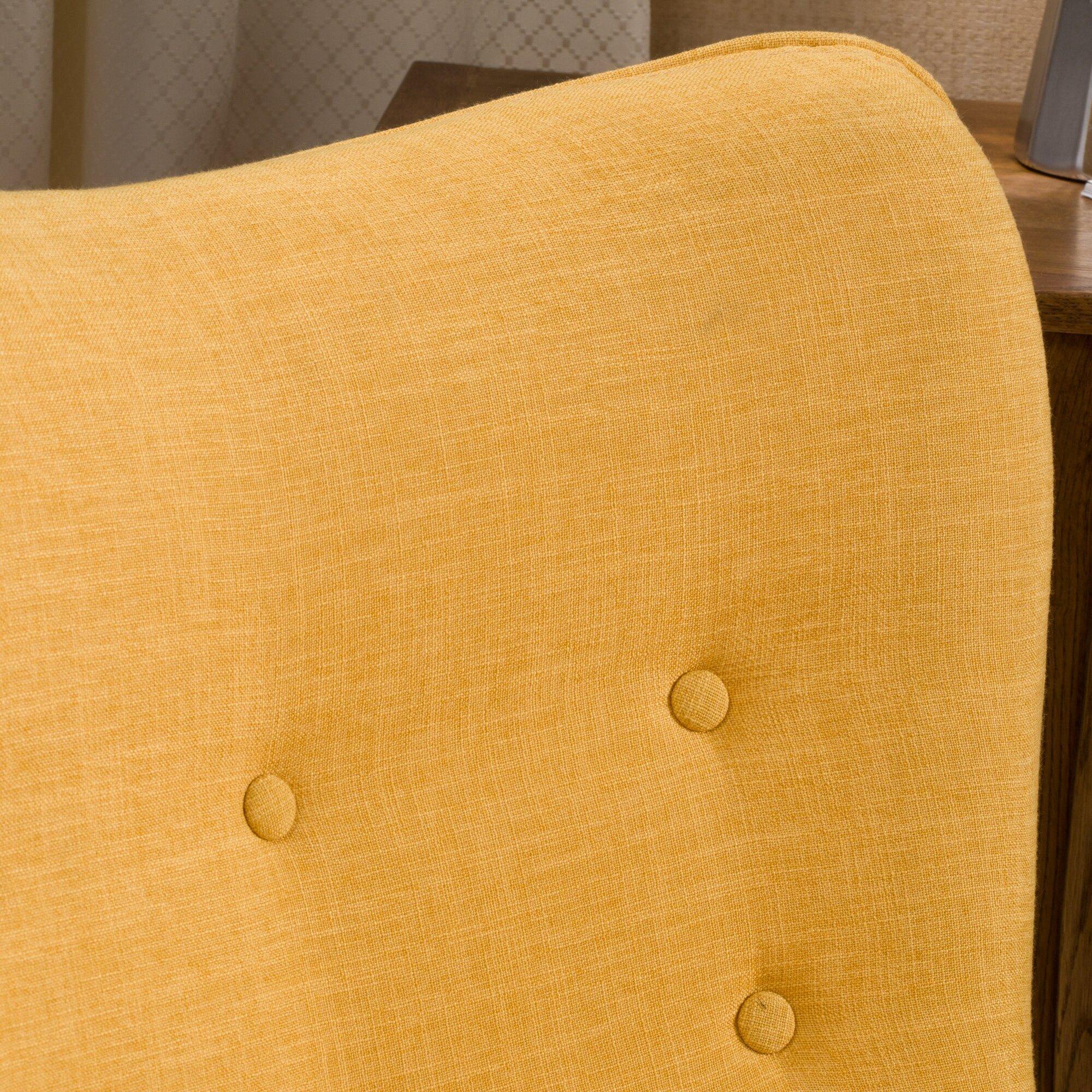 Langley Street Canyon Vista Mid Century Wingback Chair Set
