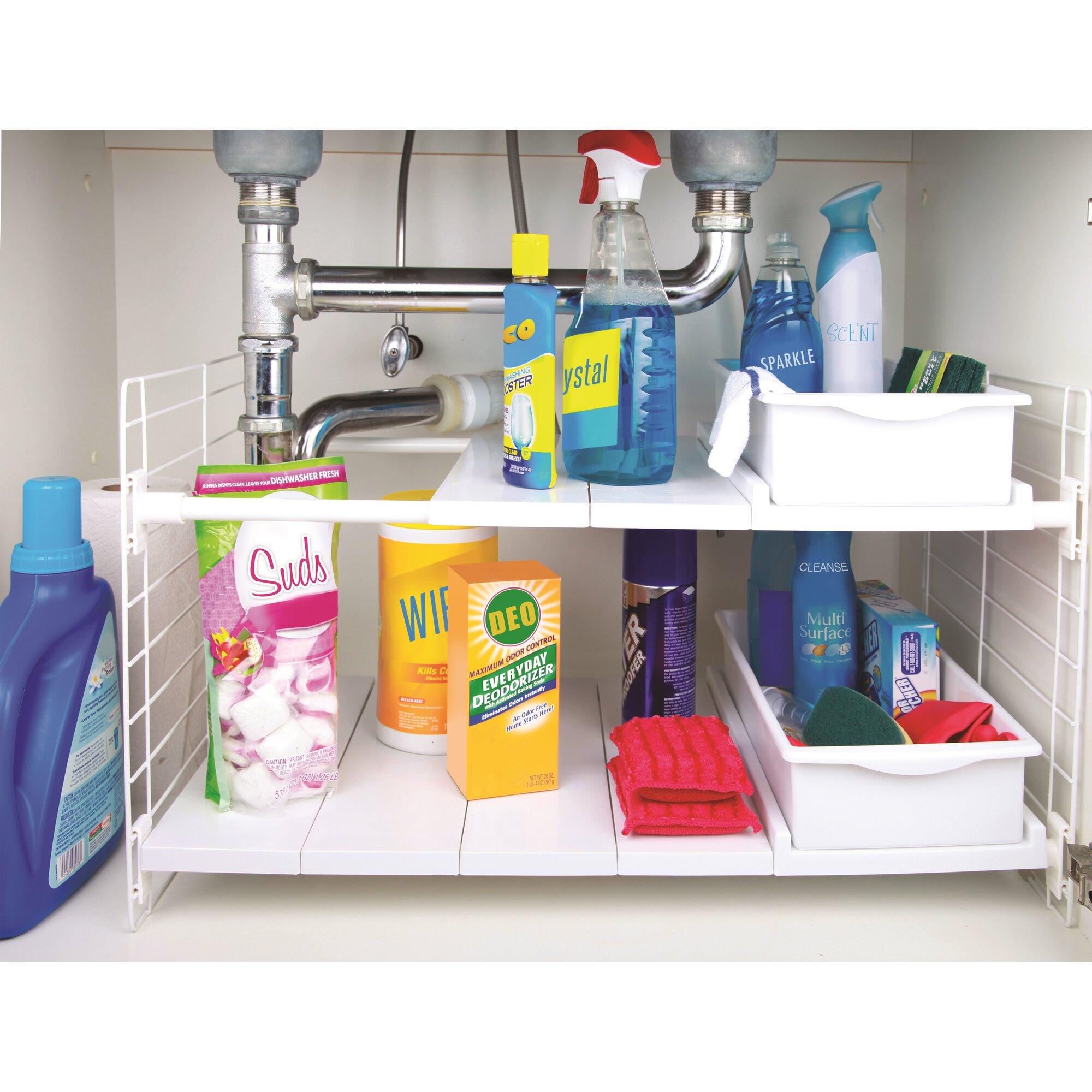 Under sink organizer bathroom - Under Sink Multi Drawer Organizer