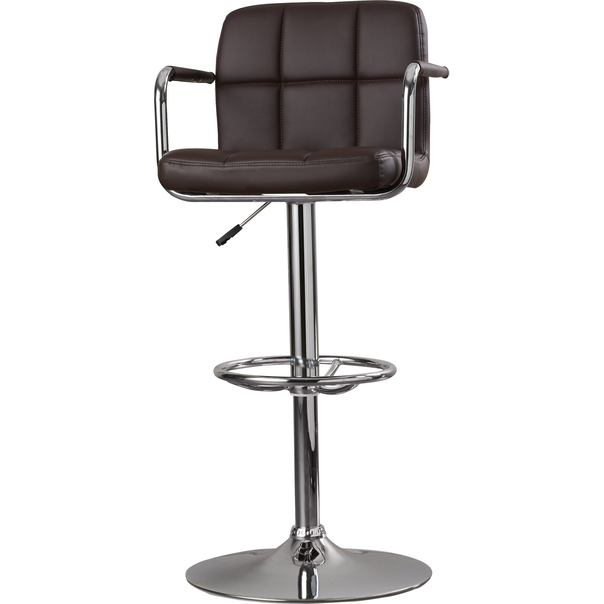 Zipcode Design Faith Adjustable Height Swivel Bar Stool