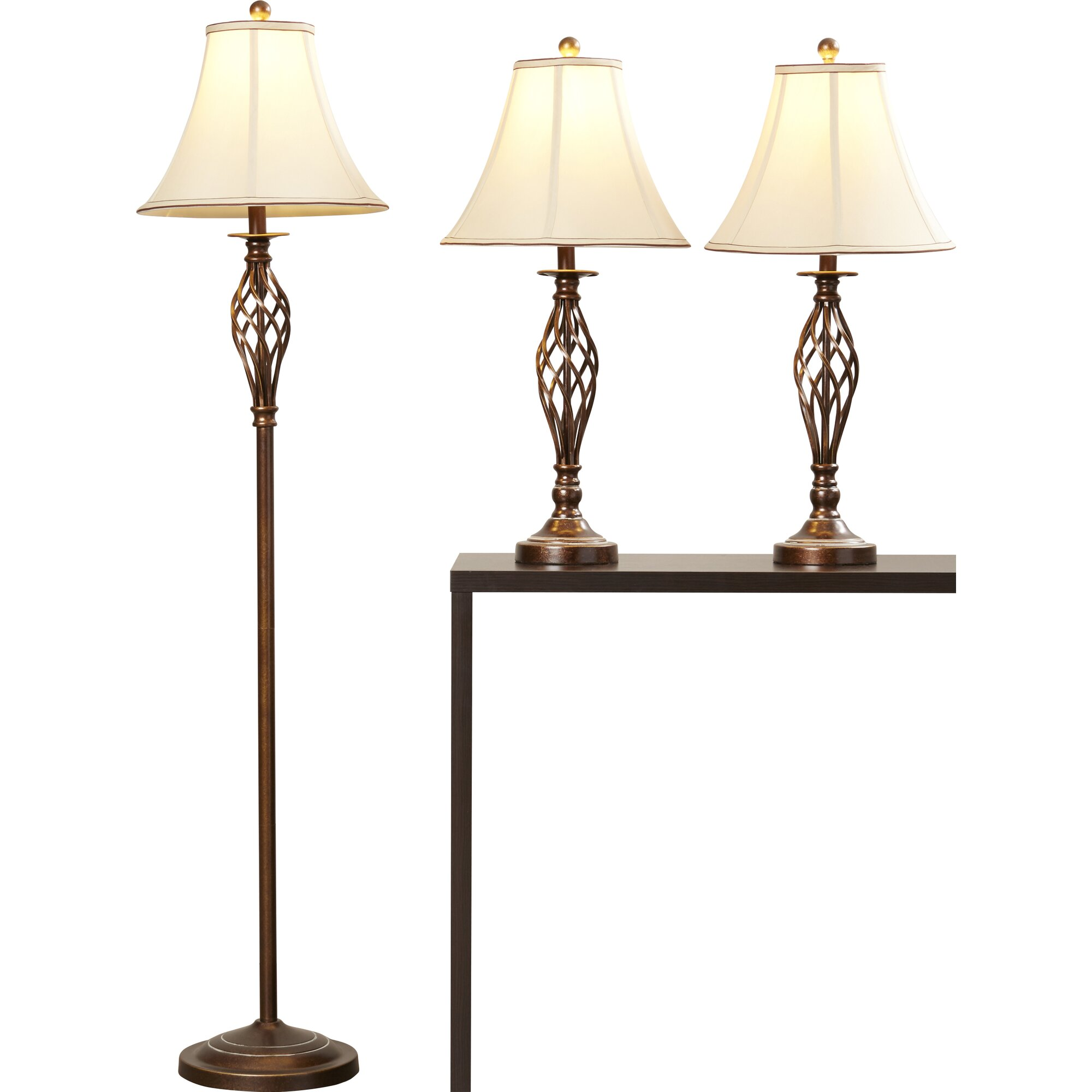 Andover Mills Ignatius 3 Piece Table Lamp and Floor Lamp  : Ignatius3PieceTableLampandFloorLampSet from www.wayfair.ca size 2000 x 2000 jpeg 135kB