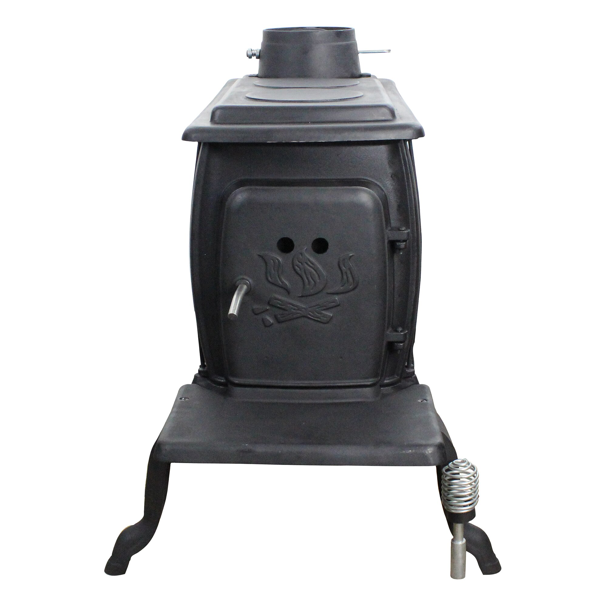 US Stove 900 sq. ft. Direct Vent Wood Stove & Reviews | Wayfair