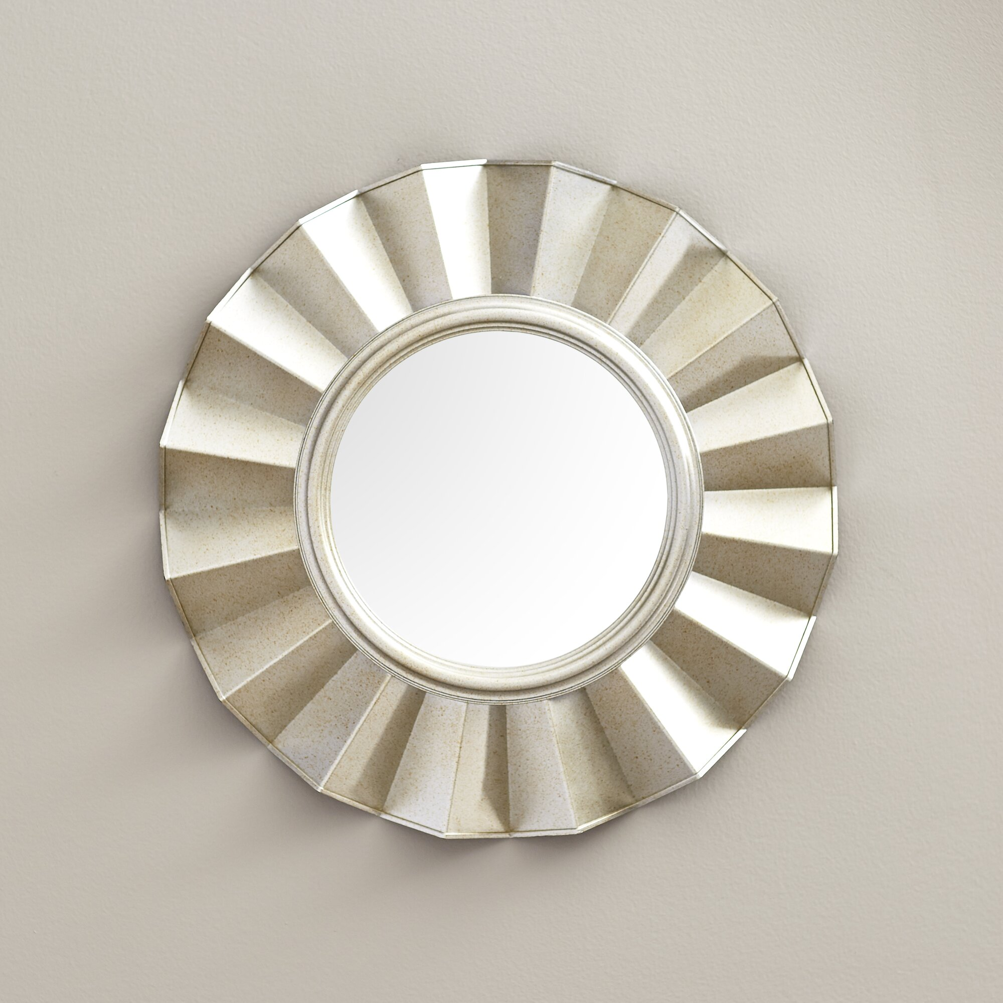Willa Arlo Interiors Vertical Round Wall Mirror Reviews