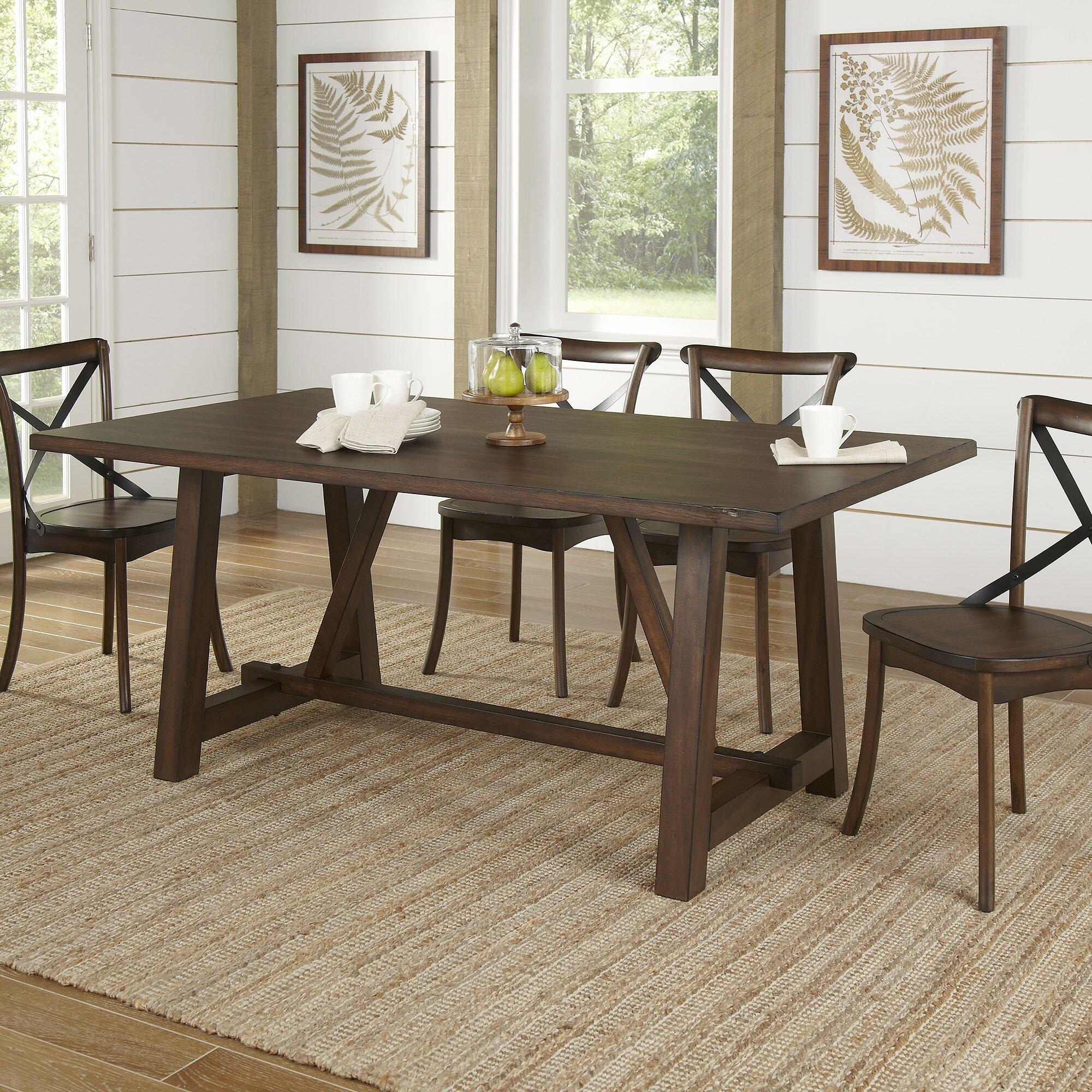 Birch Lane™ Romney Rectangular Dining Table & Reviews   Wayfair
