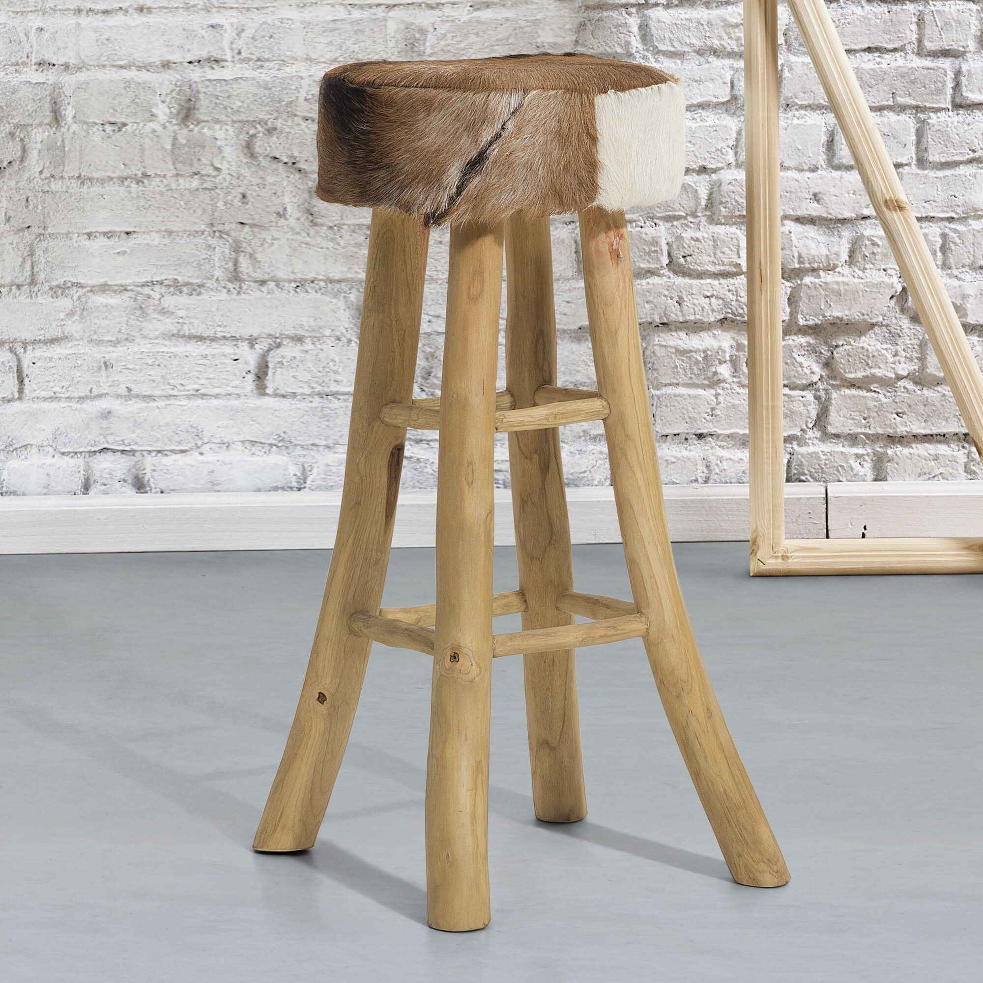 Home loft concept 80 cm barhocker dalton bewertungen for Barhocker 80 cm hoch