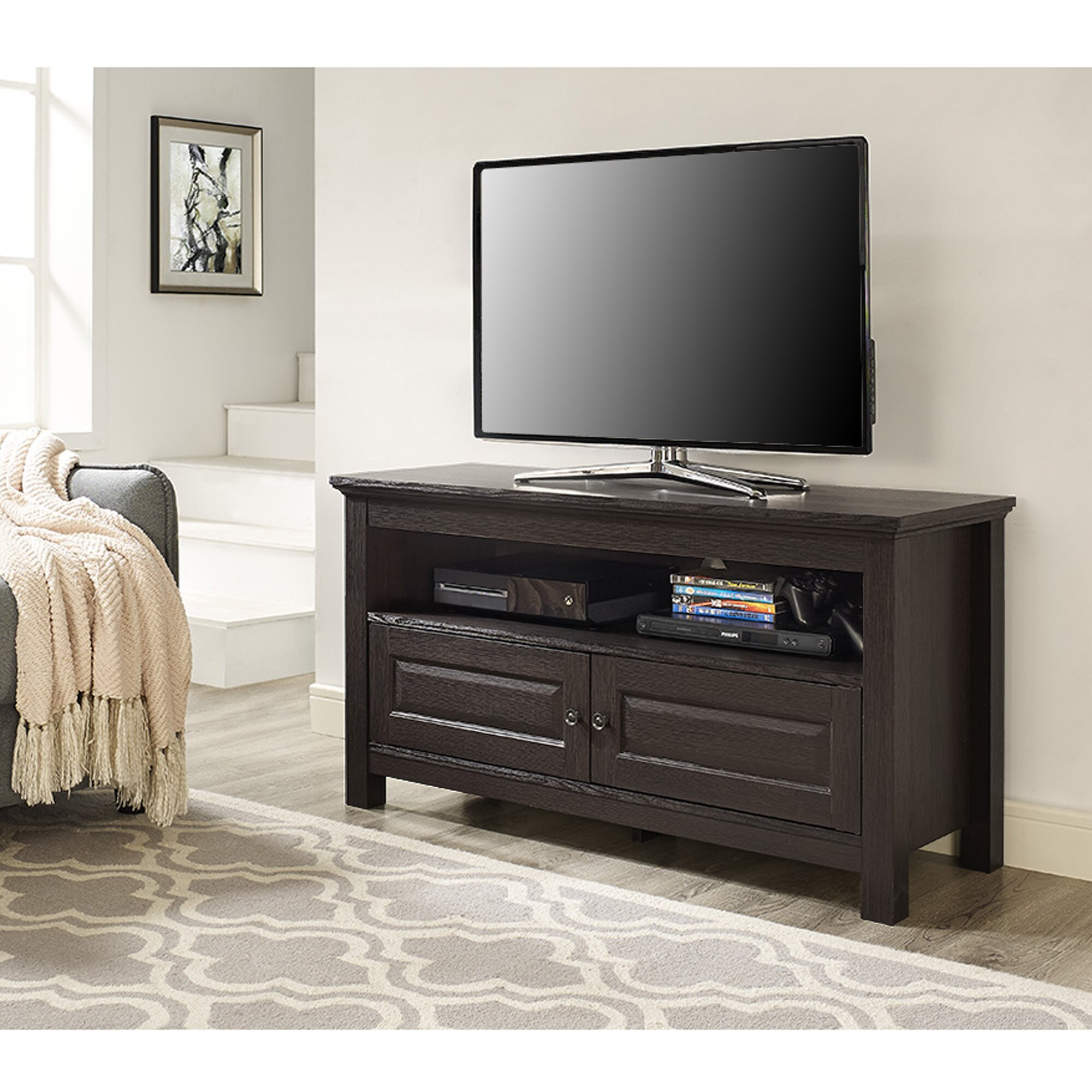 andover mills abingdon 44 tv stand amp reviews wayfair ca