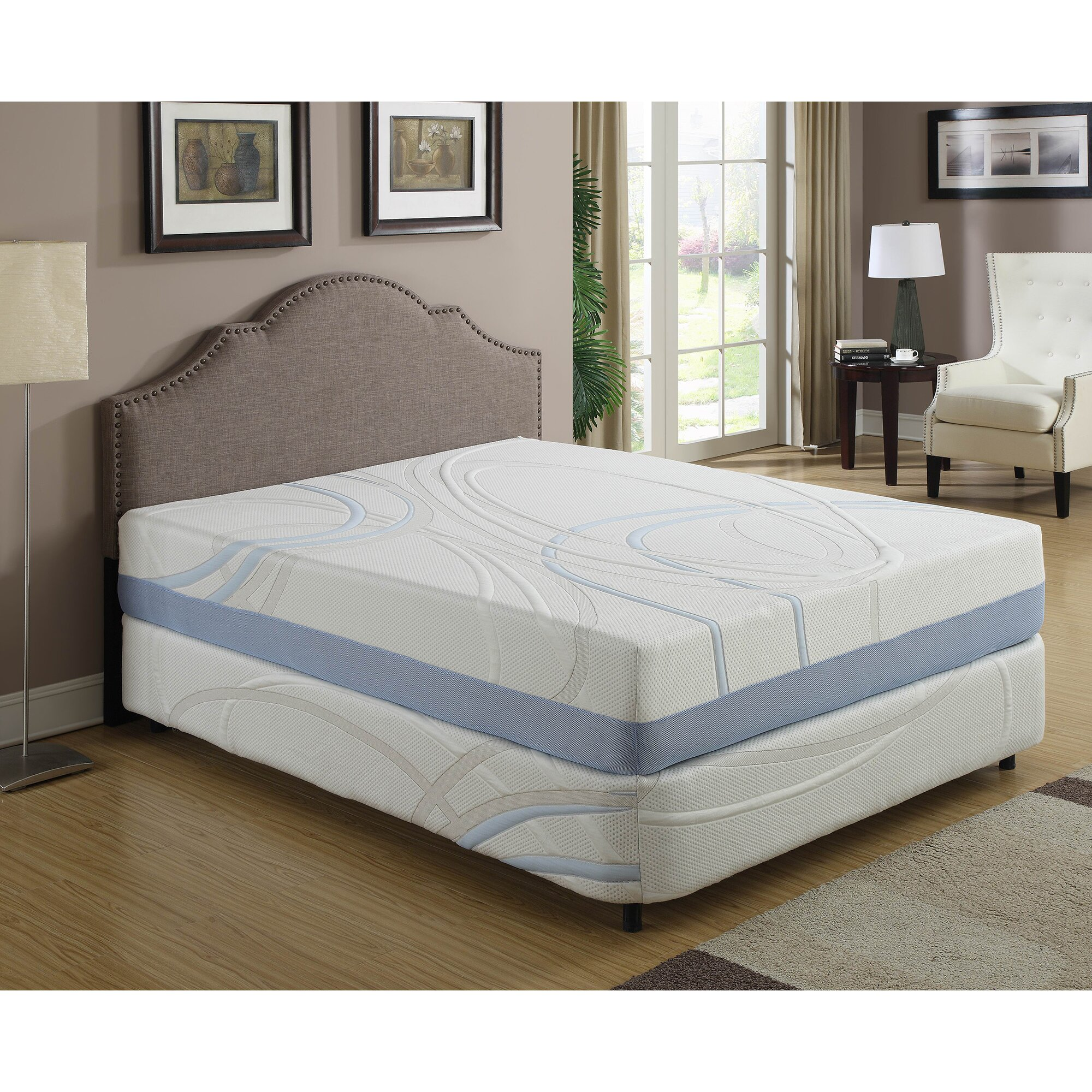 Ac Pacific Charco 12 Firm Memory Foam Mattress Reviews