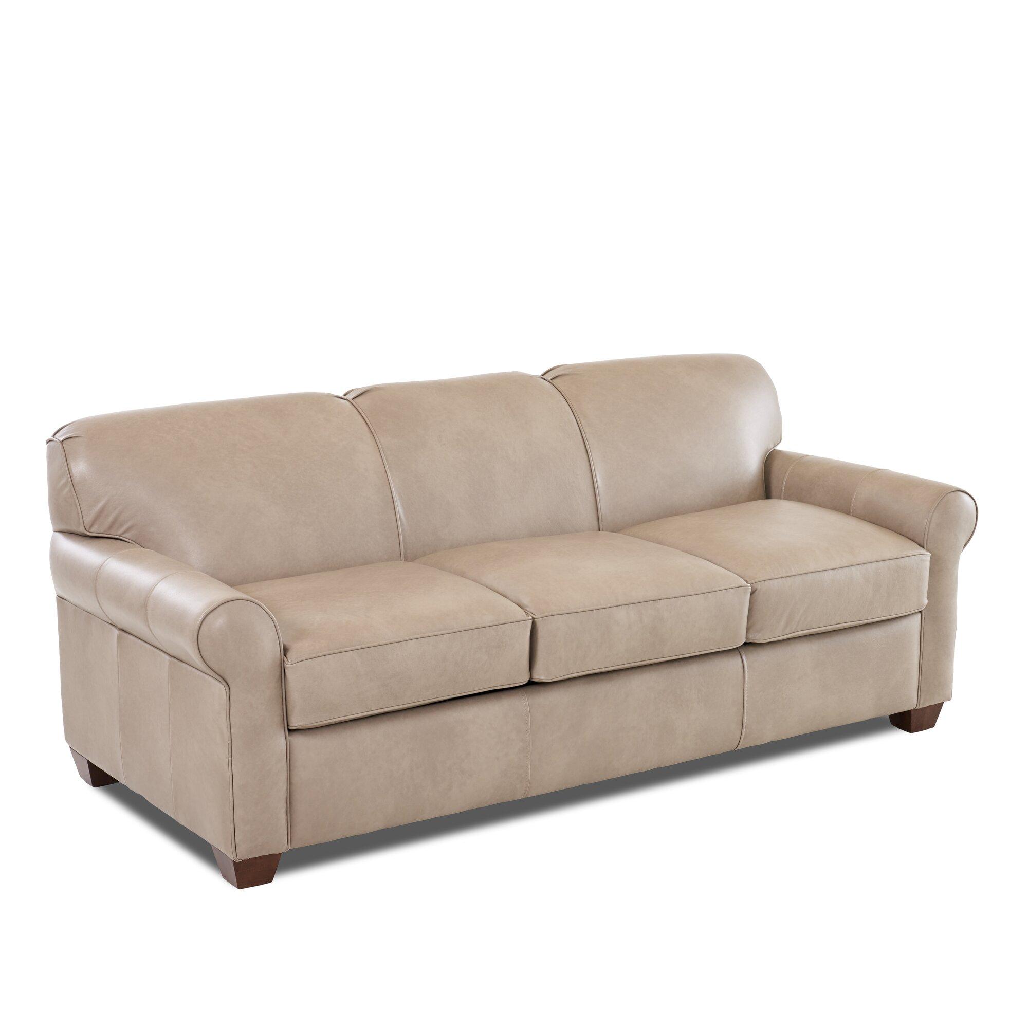 Jennifer Leather Sofa Beds
