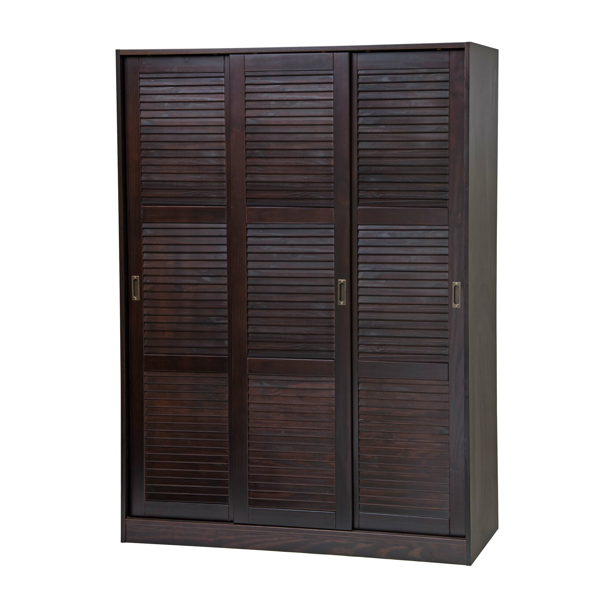 PalaceImports Three-Sliding Door Armoire & Reviews