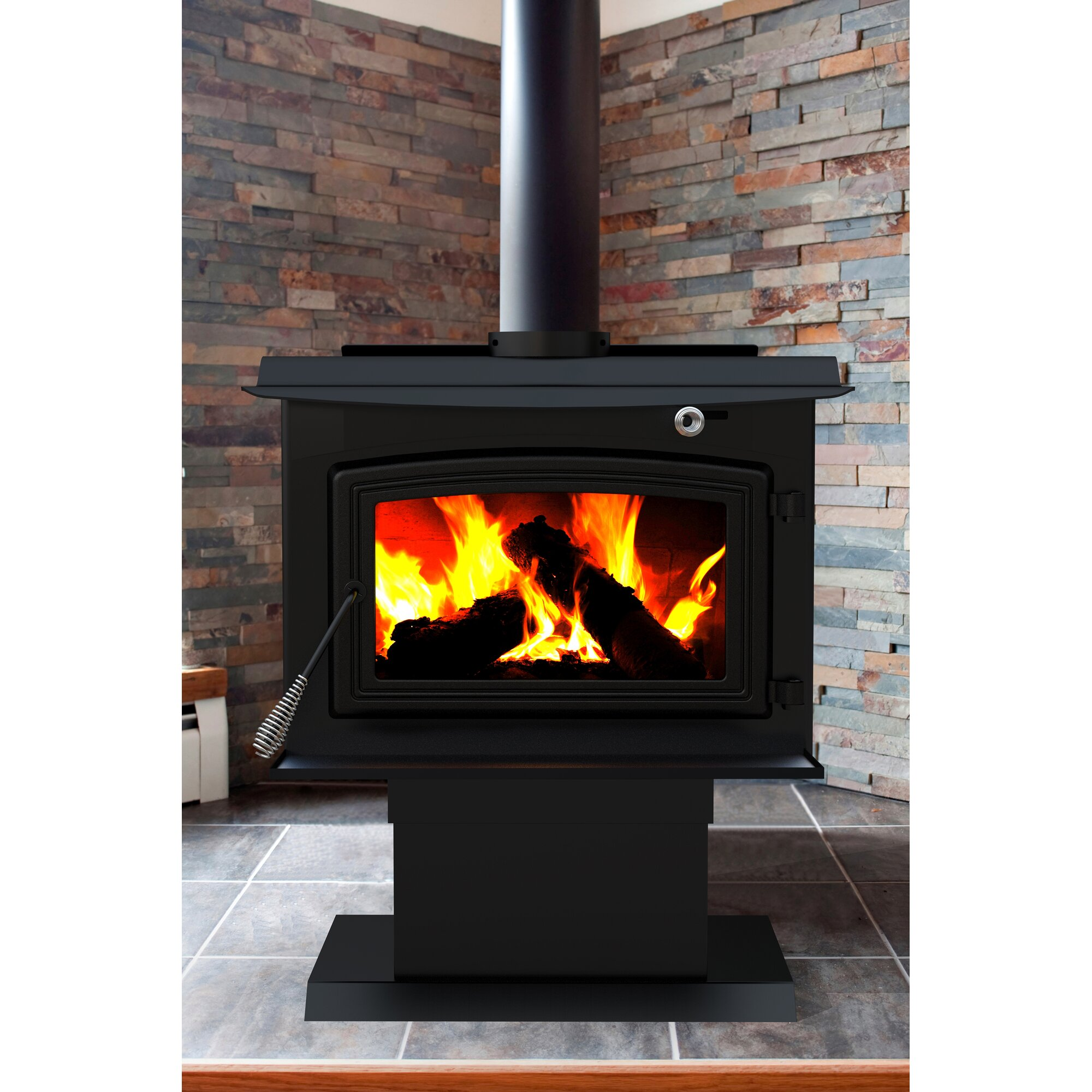 Dyna-Glo Pleasant Hearth 2,200 sq. ft. Direct Vent Wood Stove ...
