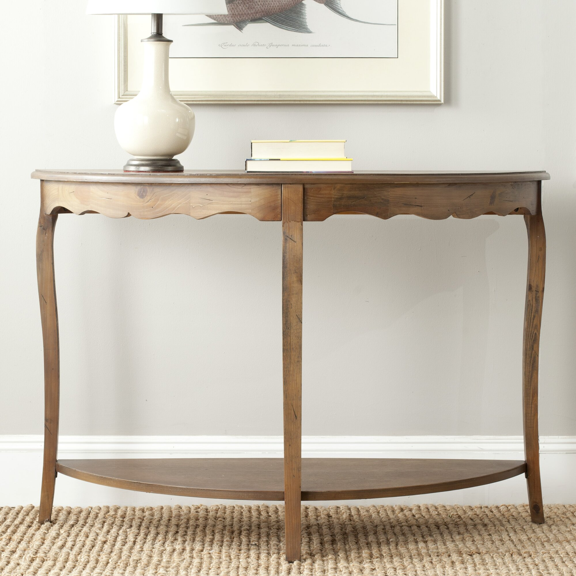 Michael Amini Platine De Royale Console Table Wayfair