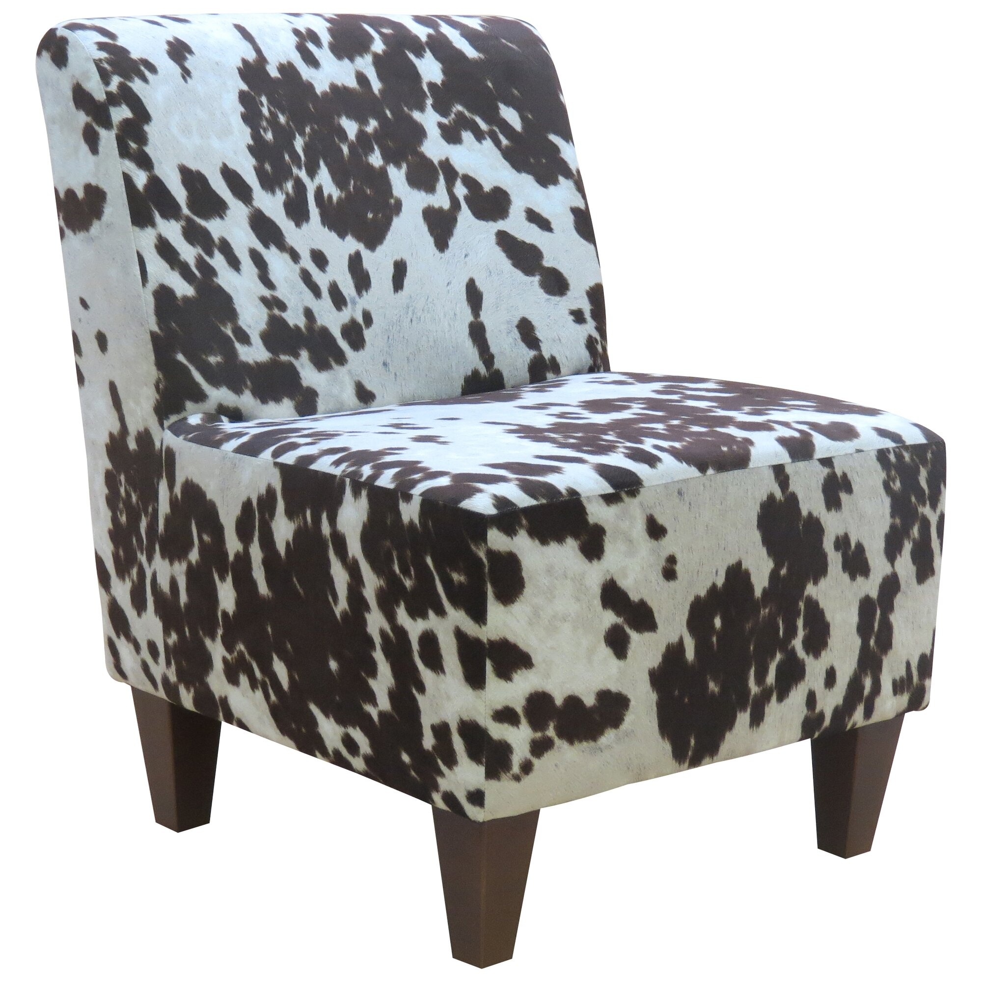 Cowhide Armchair Furniture Handsome Pair Antique Cowhide Chairs