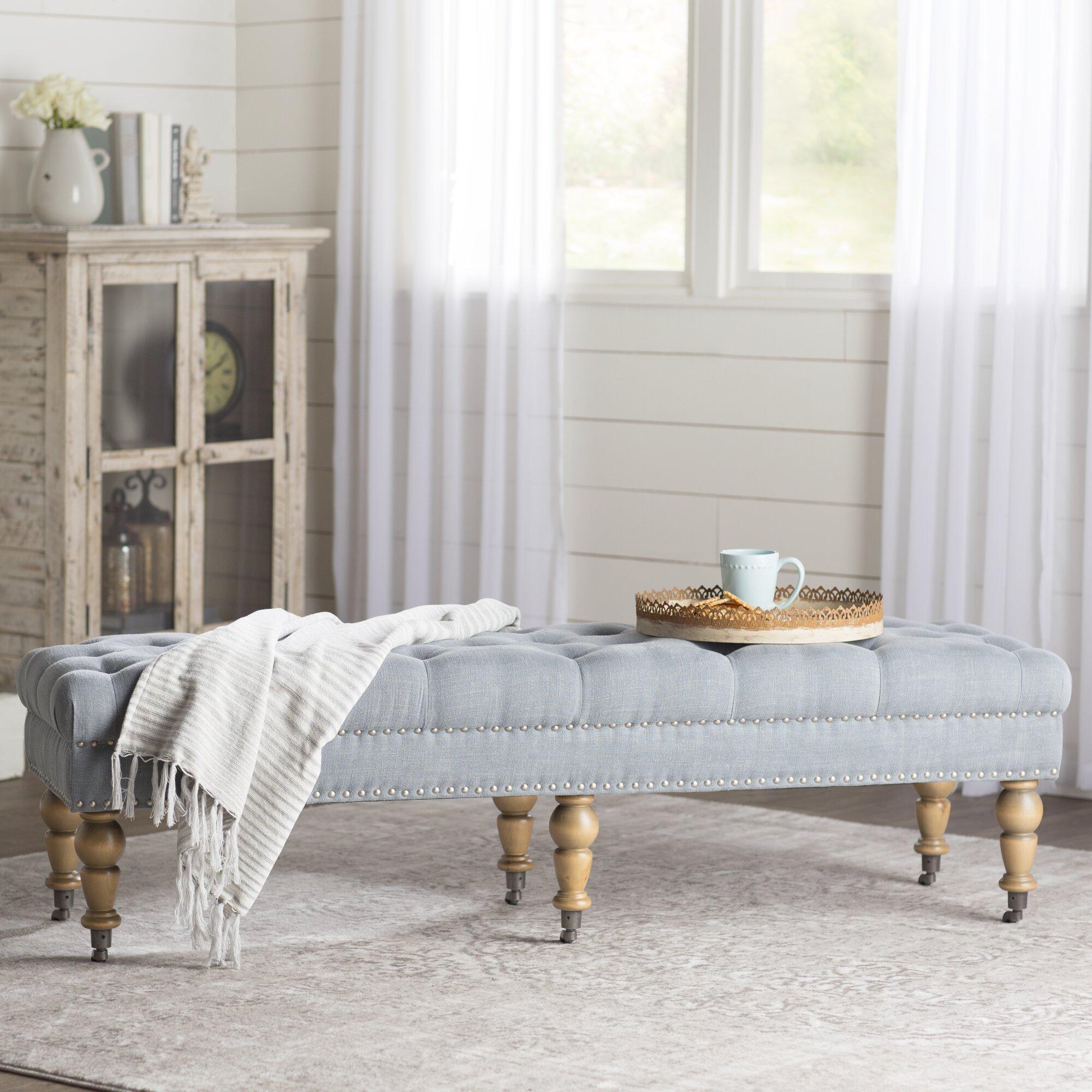 Lark Manor Ambrine Upholstered Bedroom Bench & Reviews