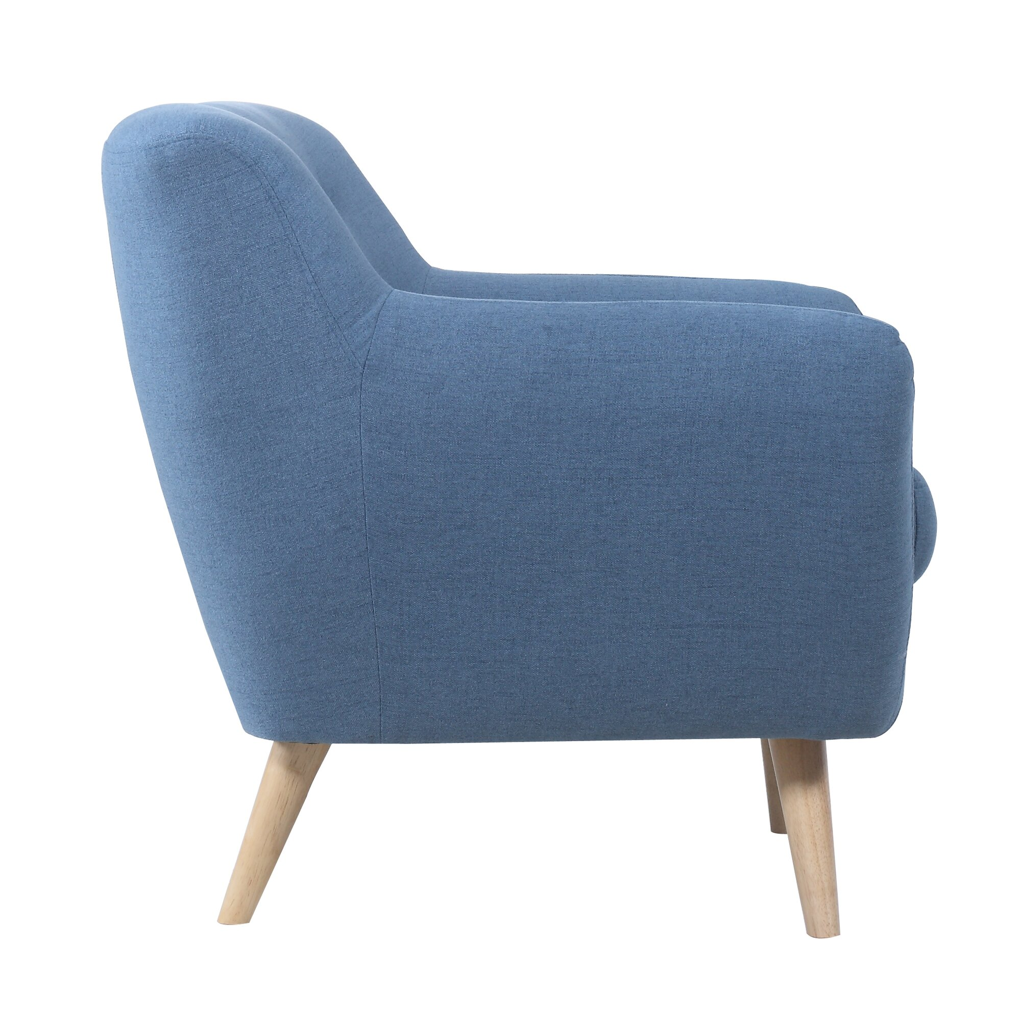 Madison Home Usa Mid Century Modern Tufted Armchair