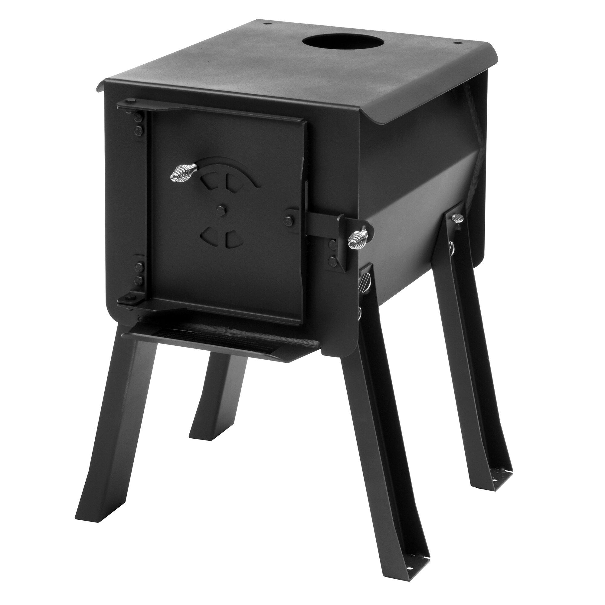 England's Stove Works Blackbear Portable Camp Wood Stove & Reviews ...