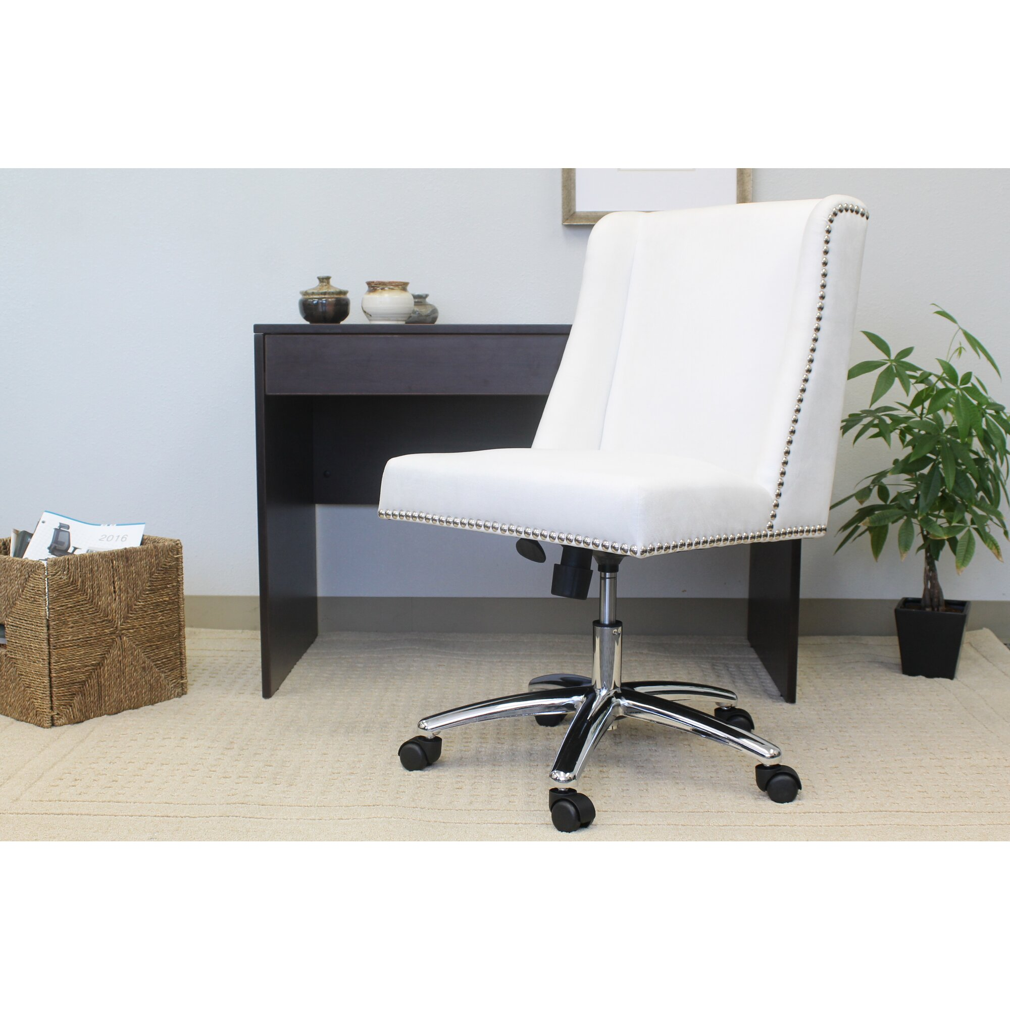 Mercer41 kirkby lonsdale high back desk chair reviews for P a furniture kirkby