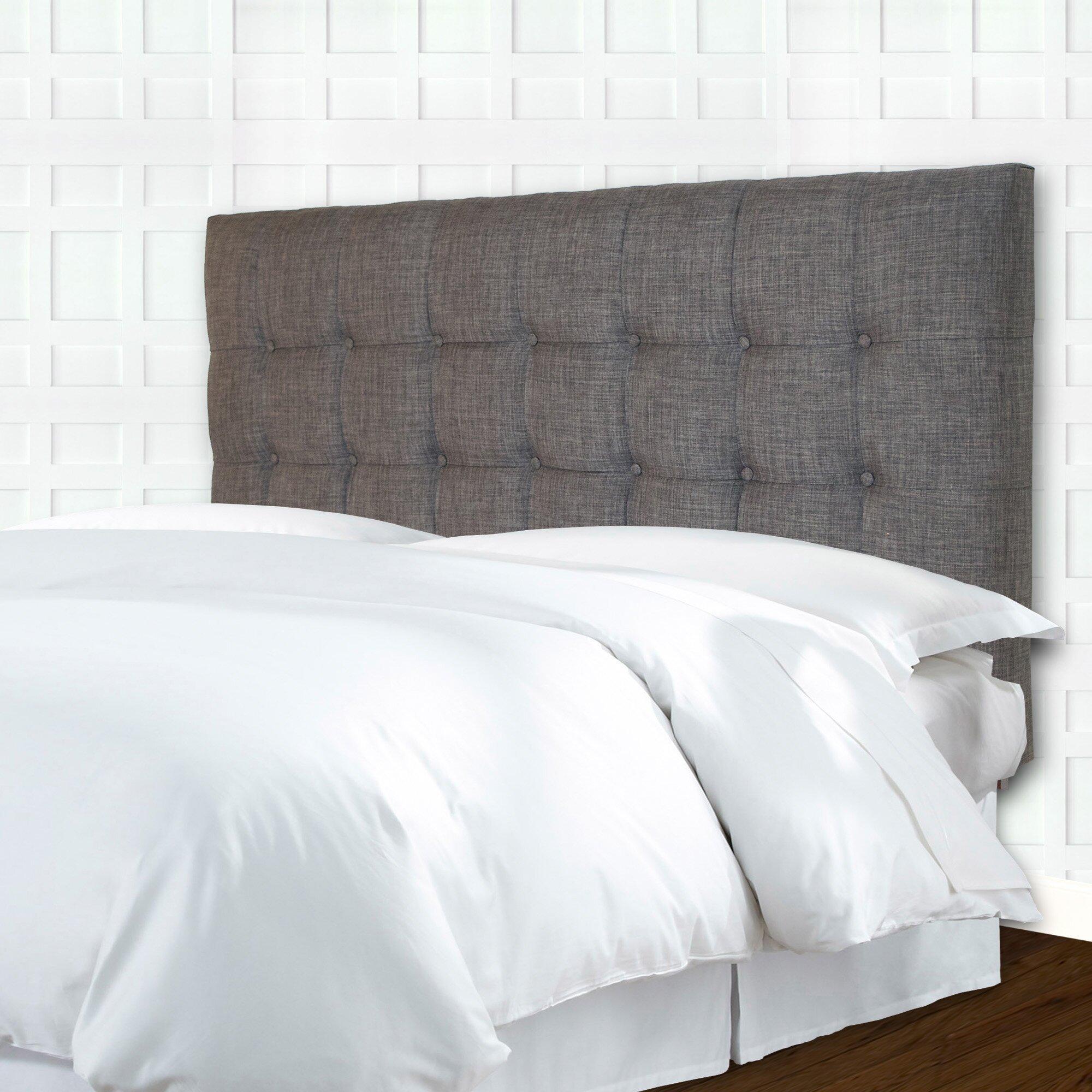 Bed headboard upholstered - Strasbourg Upholstered Panel Headboard