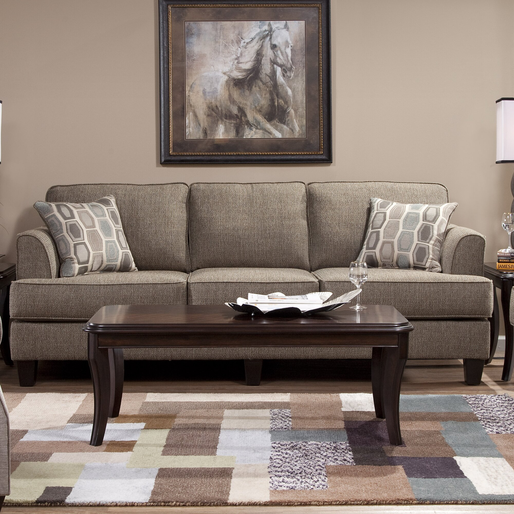 red barrel studio serta upholstery dallas living room collection reviews wayfair