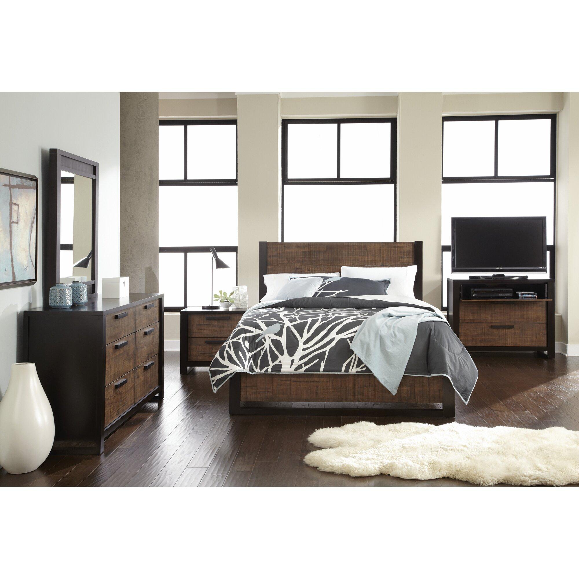 Laurel Foundry Modern Farmhouse Arrie Panel Customizable Bedroom ...