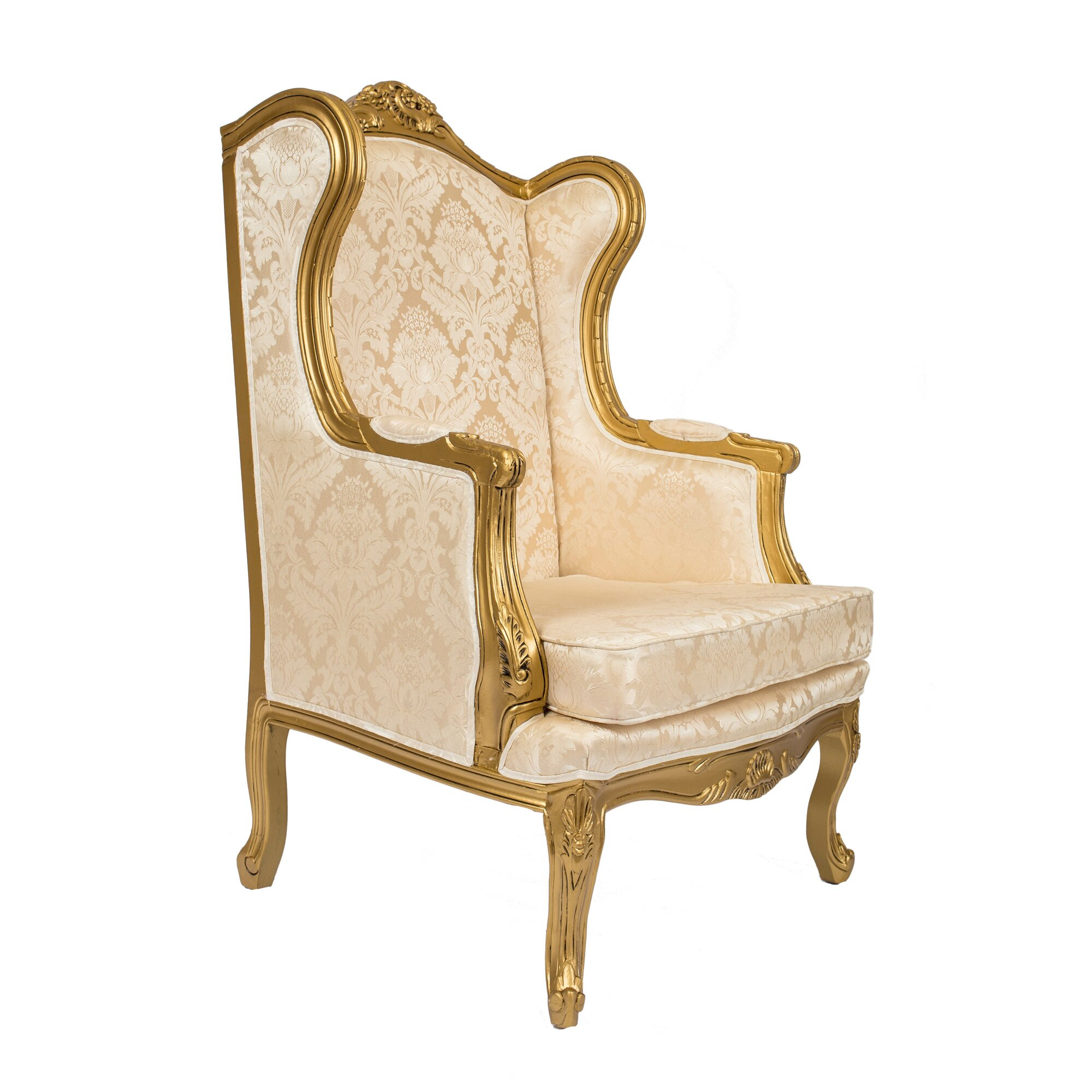 Queen Anne Wingback Chair : www.imgkid.com - The Image Kid Has It!