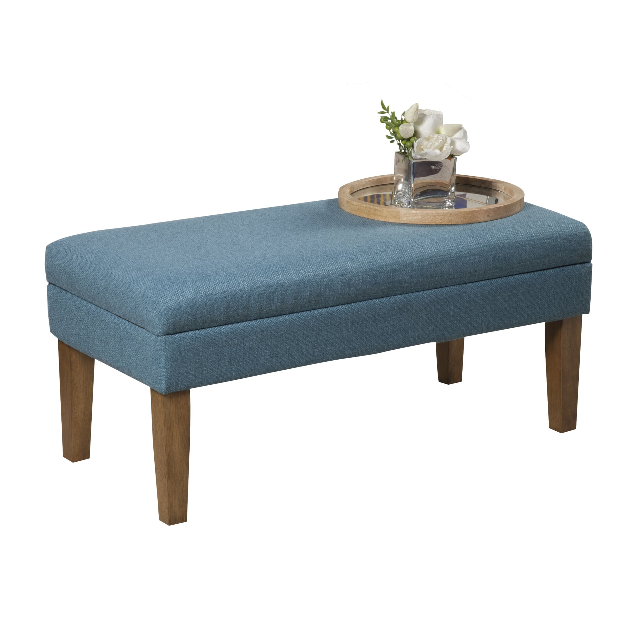 Wildon Home Upholstered Storage Bedroom Bench: Wildon Home ® Axtell Decorative Storage Bench & Reviews