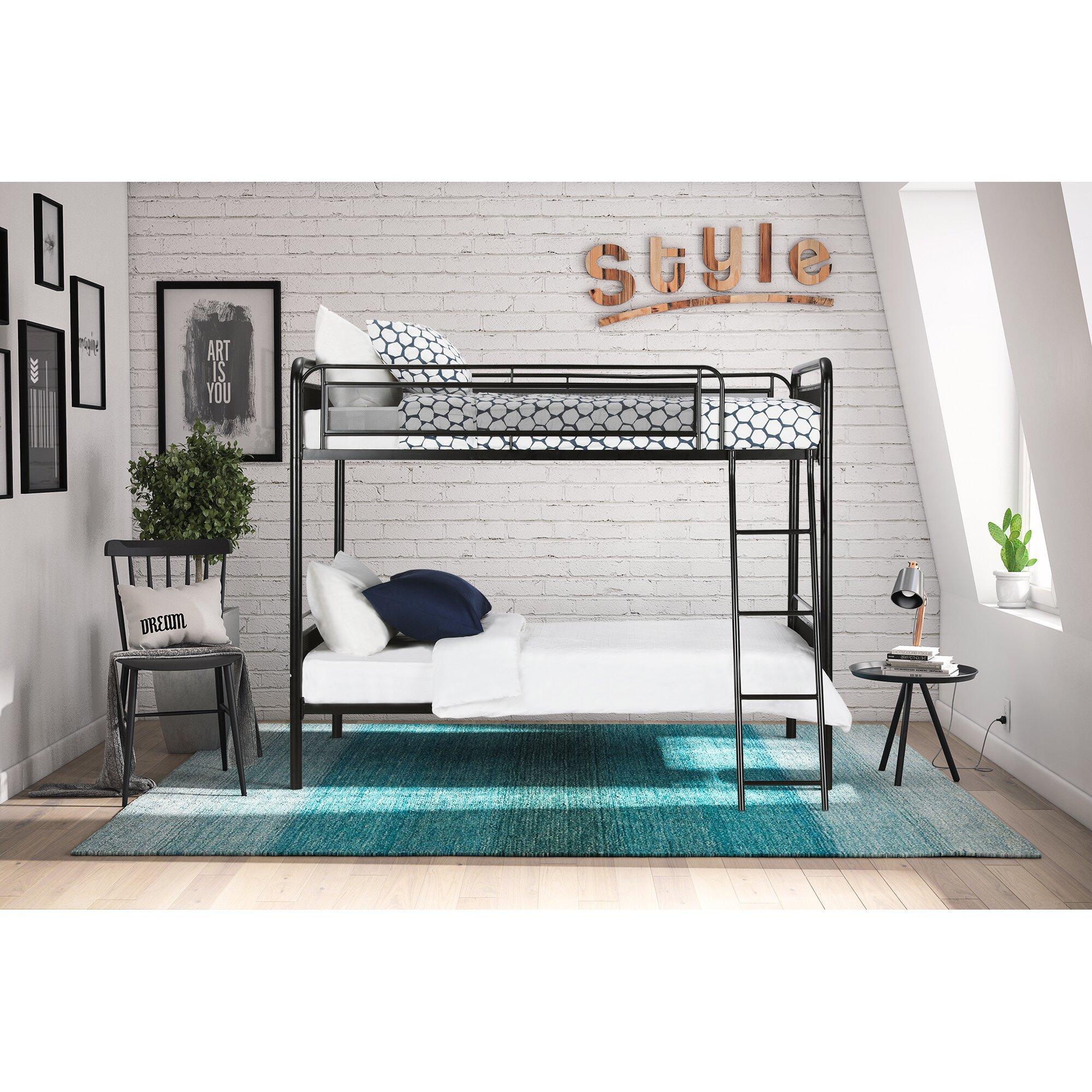 Viv + Rae Julian Twin Bunk Bed  Reviews  Wayfair
