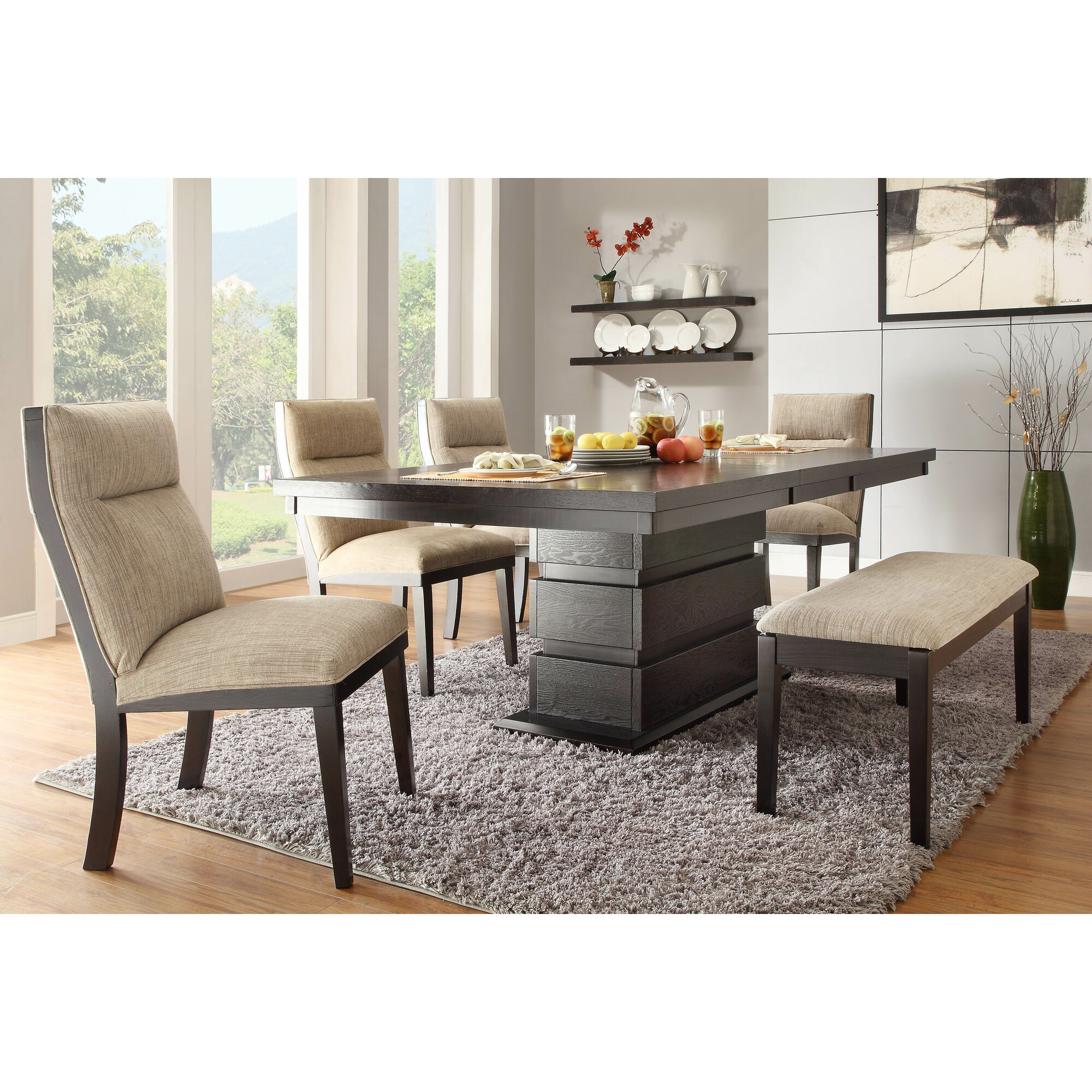 Latitude Run Leonor Extendable Dining Table & Reviews | Wayfair