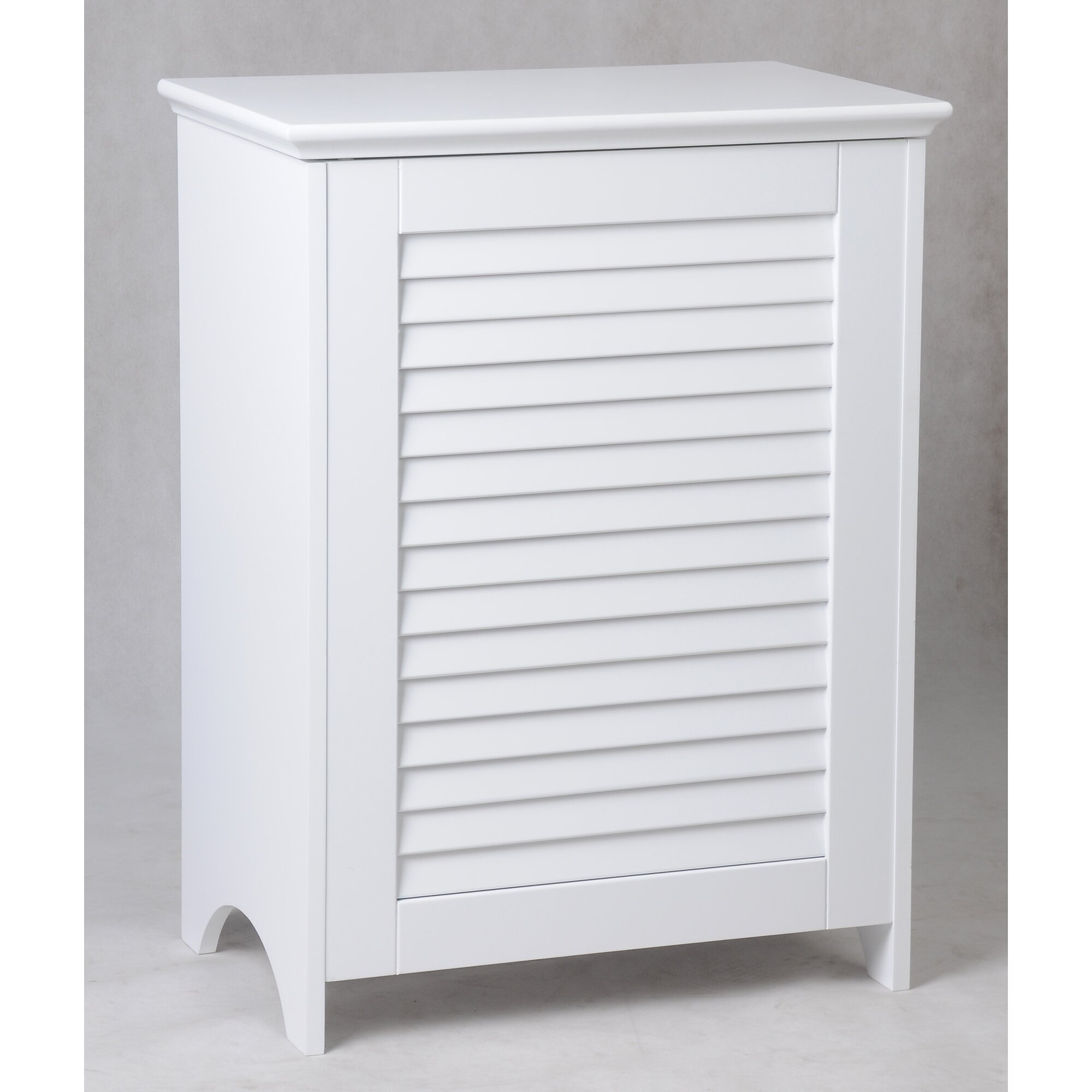 Trendy Louvered Front Cabinet Laundry Hamper With Built In Laundry Hamper  Interesting Builtin