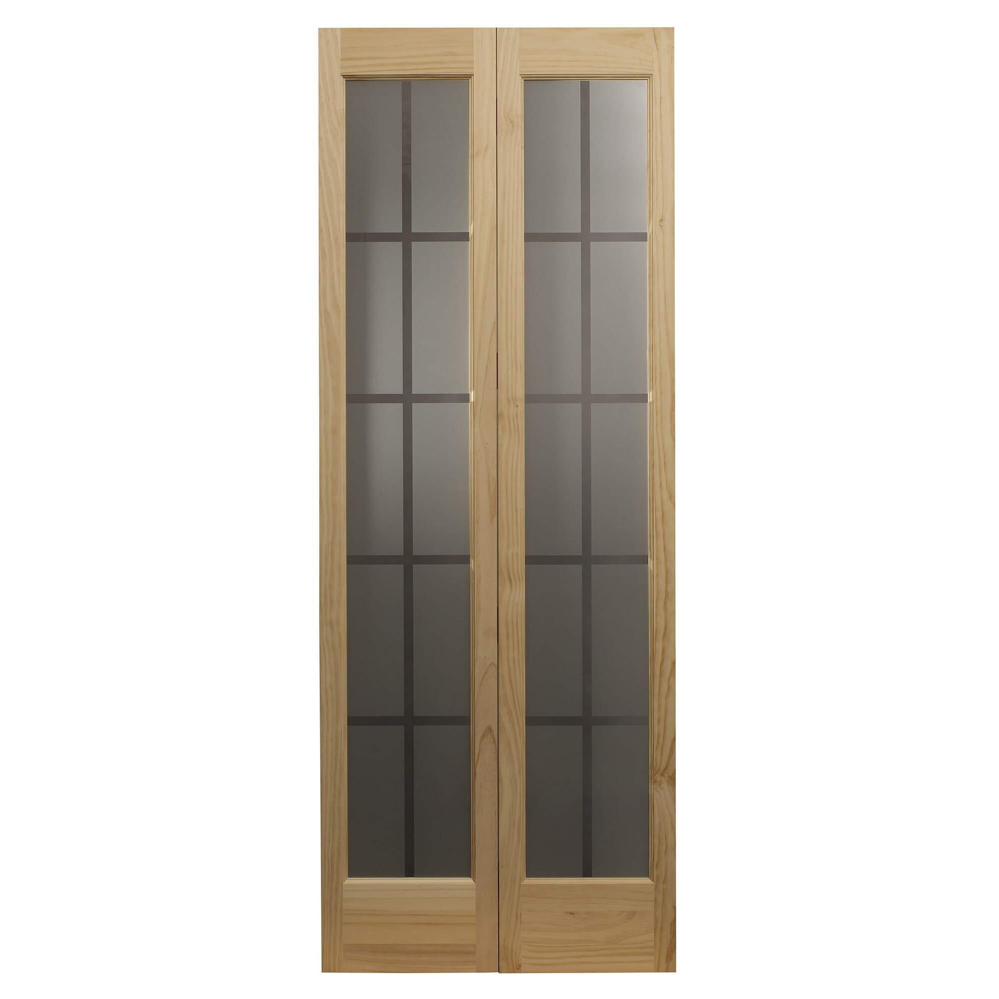 Interior glass bifold doors - Bi Fold Interior Door Magnifying Glass