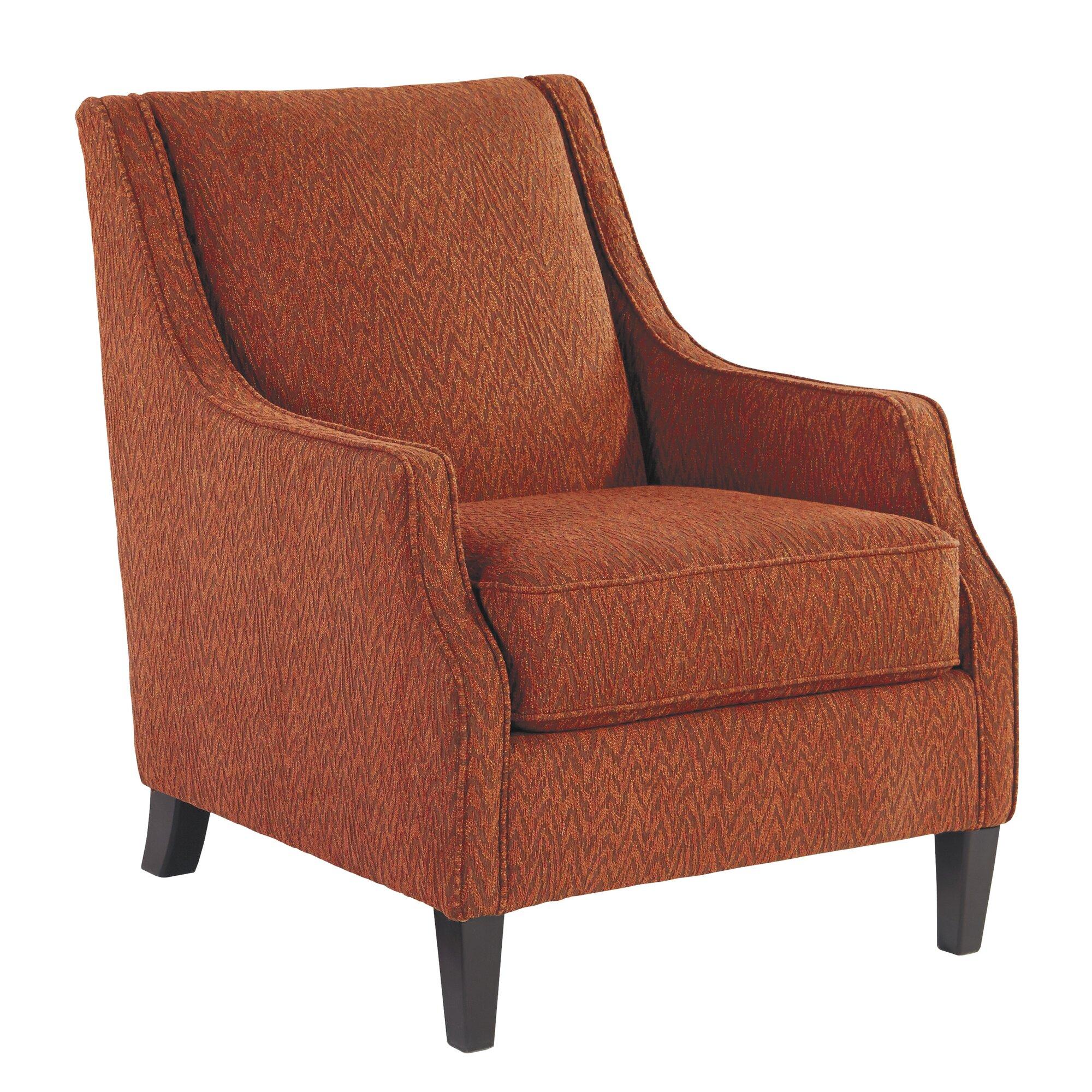 Accent Chair Orange Instachair