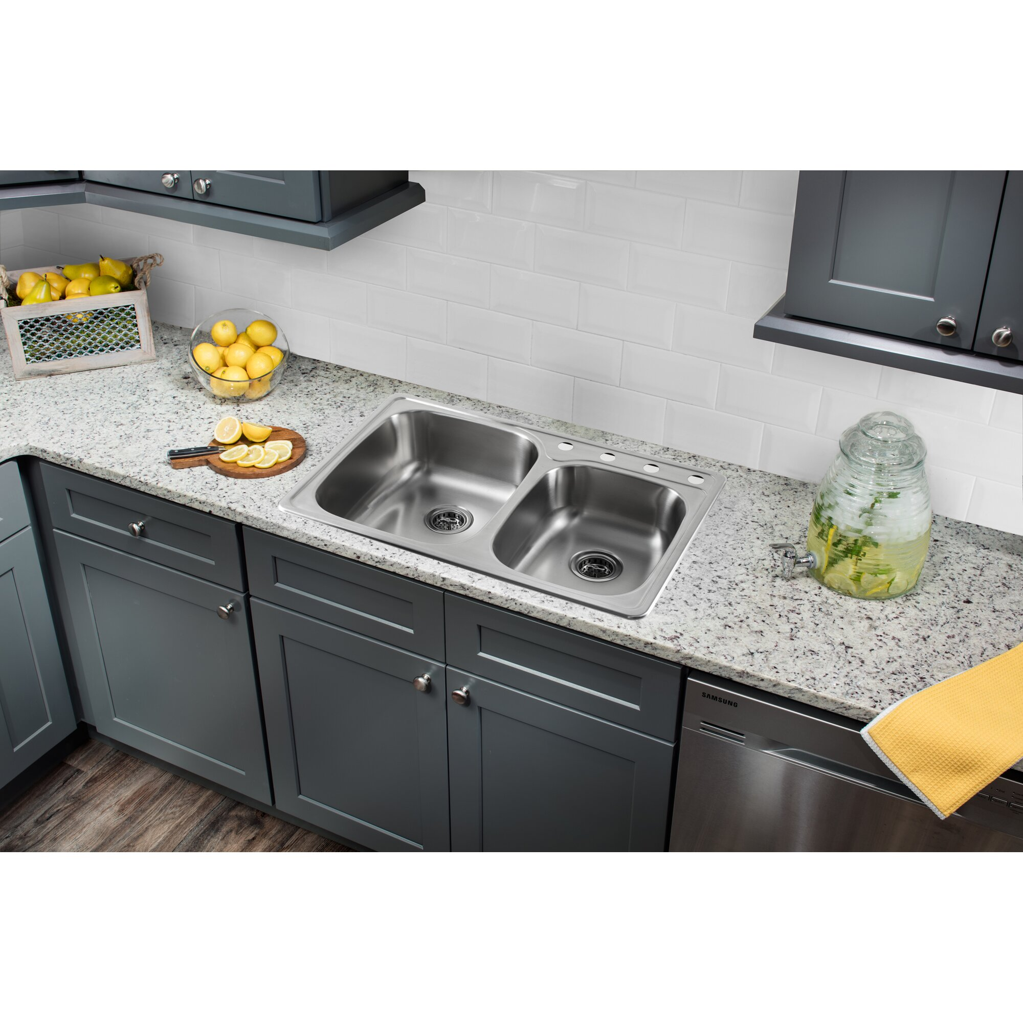 drop in stainless steel kitchen sink