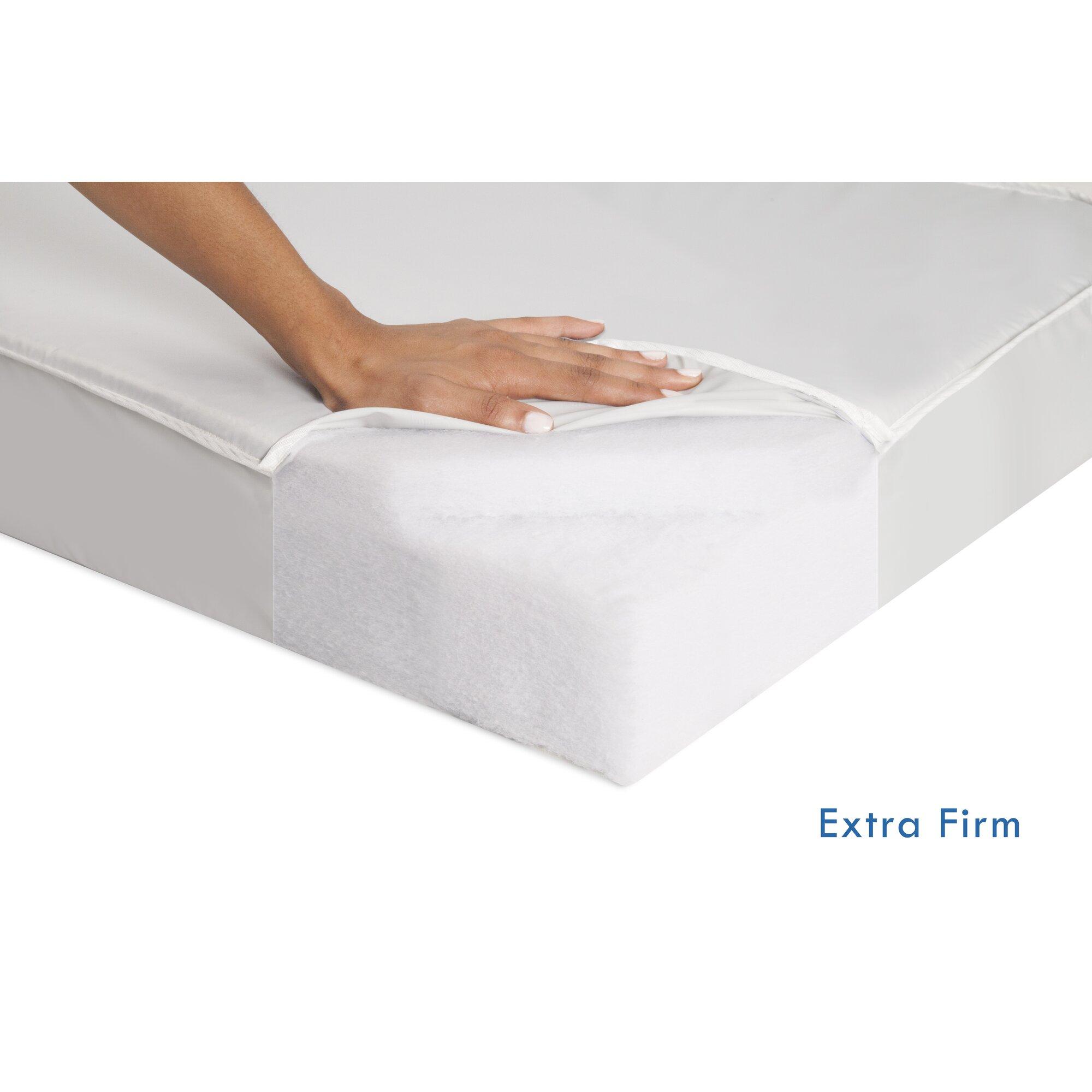 Foam Crib Mattress Topper DaVinci 100% Non-toxic Complete Mini Lightweight Extra ...
