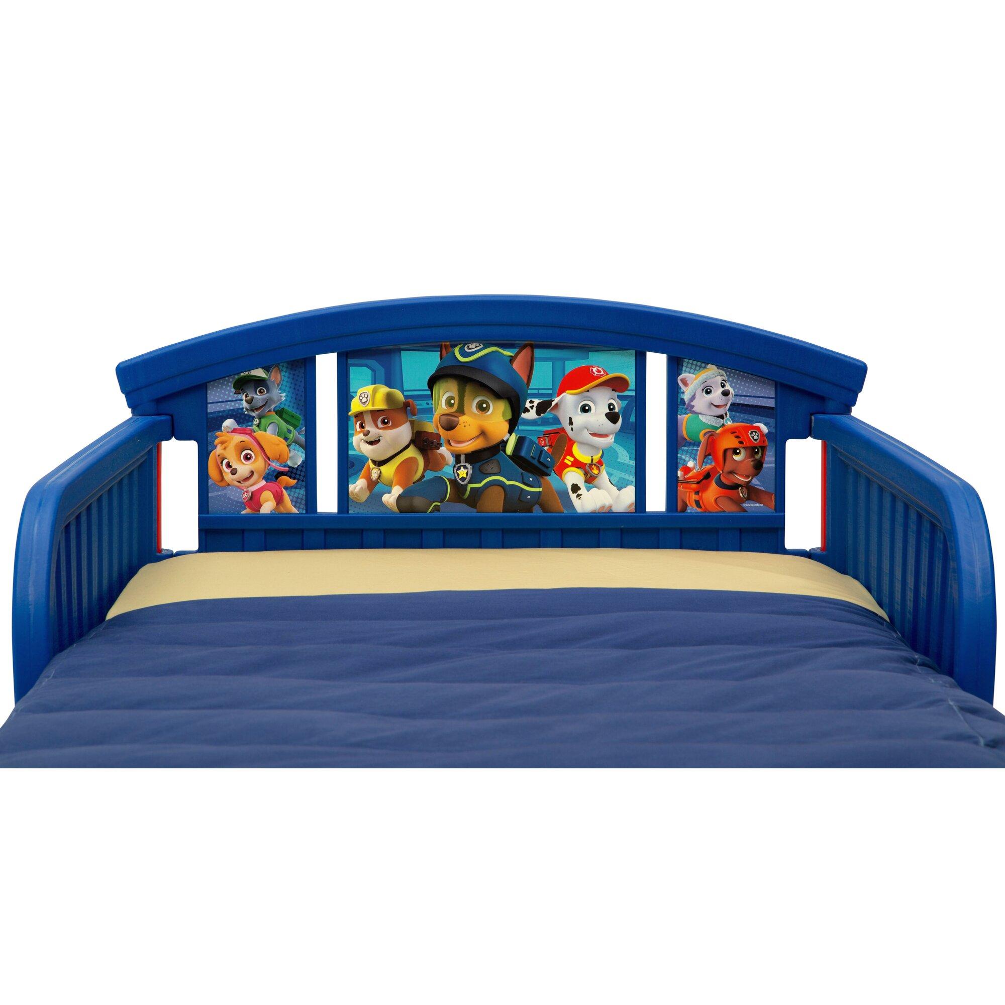 Delta Children Nick Jr Paw Patrol Plastic Toddler Bed