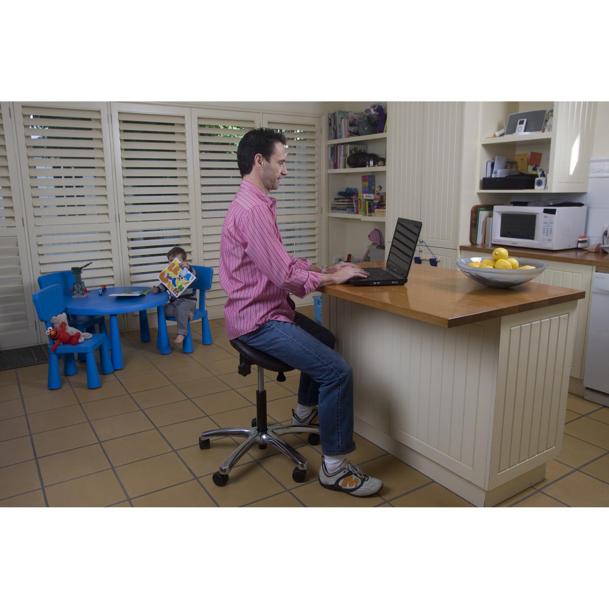 Jobri Saddle Ergonomic Stool  Reviews  Wayfair