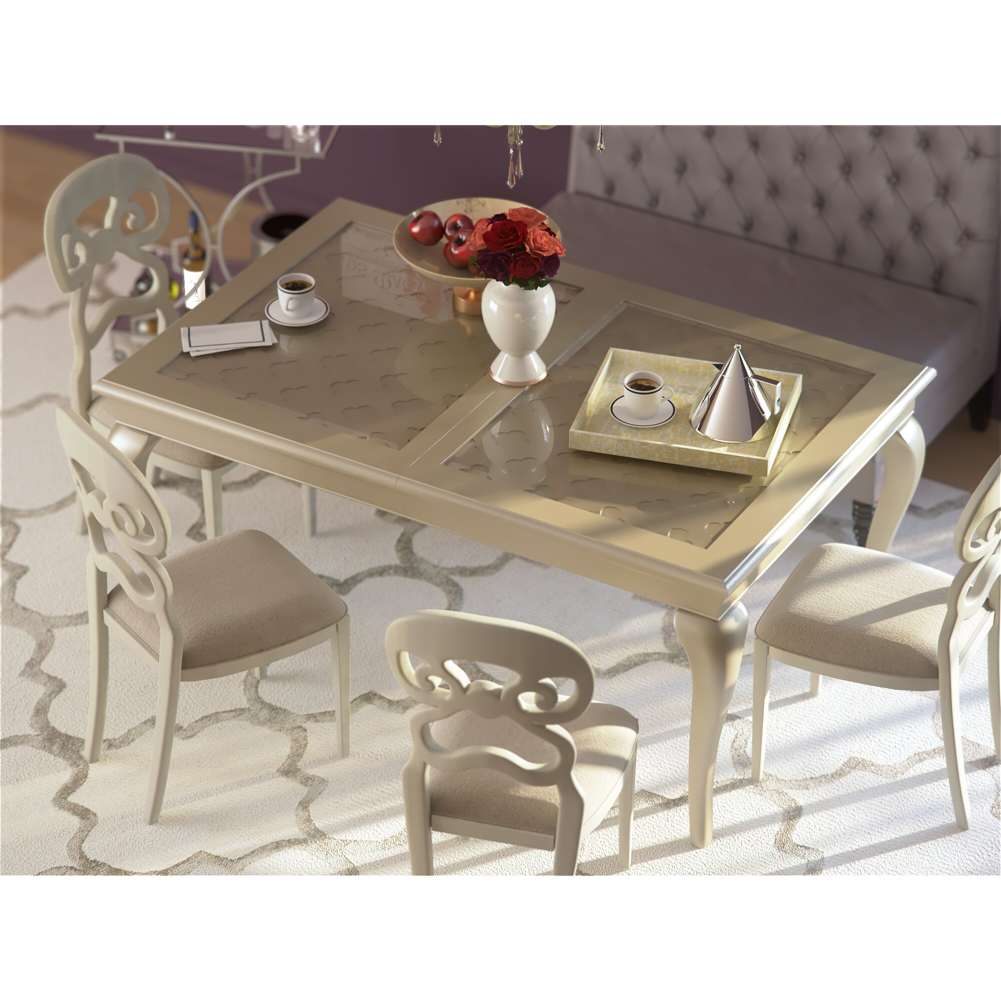 House of Hampton Lane Extendable Dining Table & Reviews   Wayfair