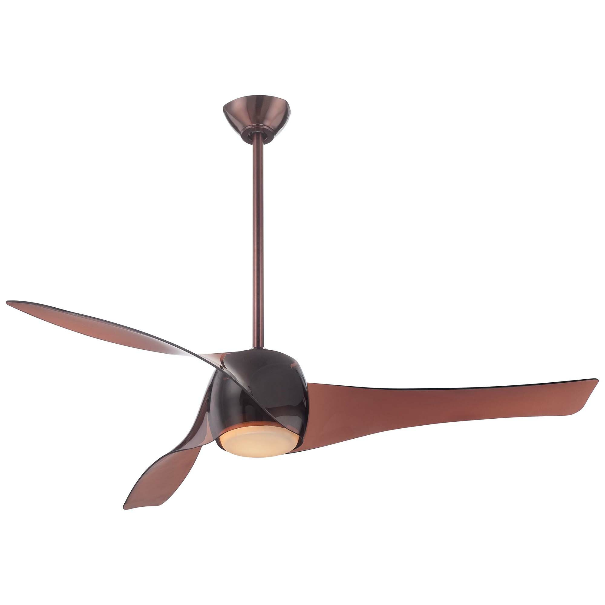 "Minka Aire 58"" Artemis 3 Blade Ceiling Fan & Reviews"