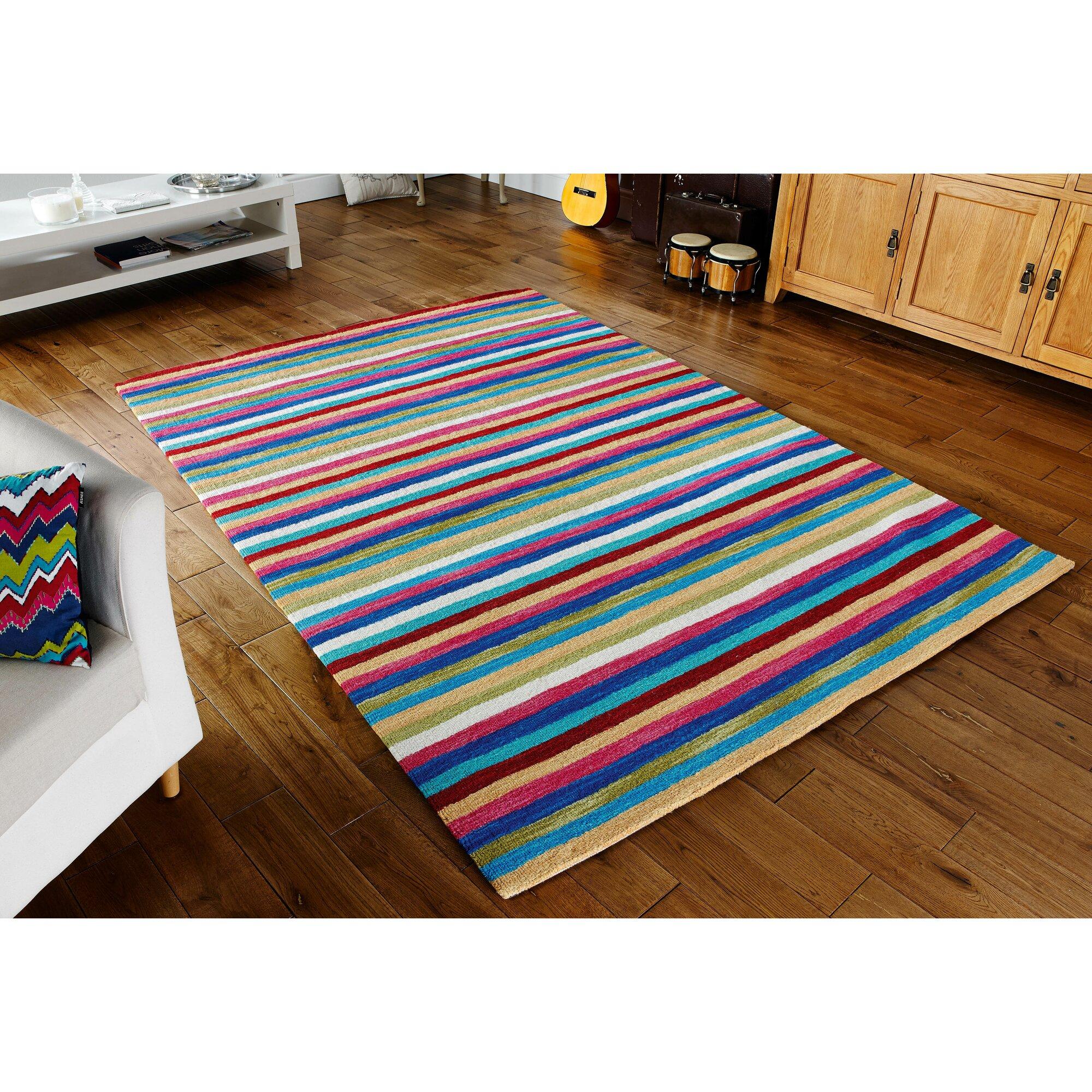 caracella handgewebter wolle teppich vesta in bunt bewertungen. Black Bedroom Furniture Sets. Home Design Ideas