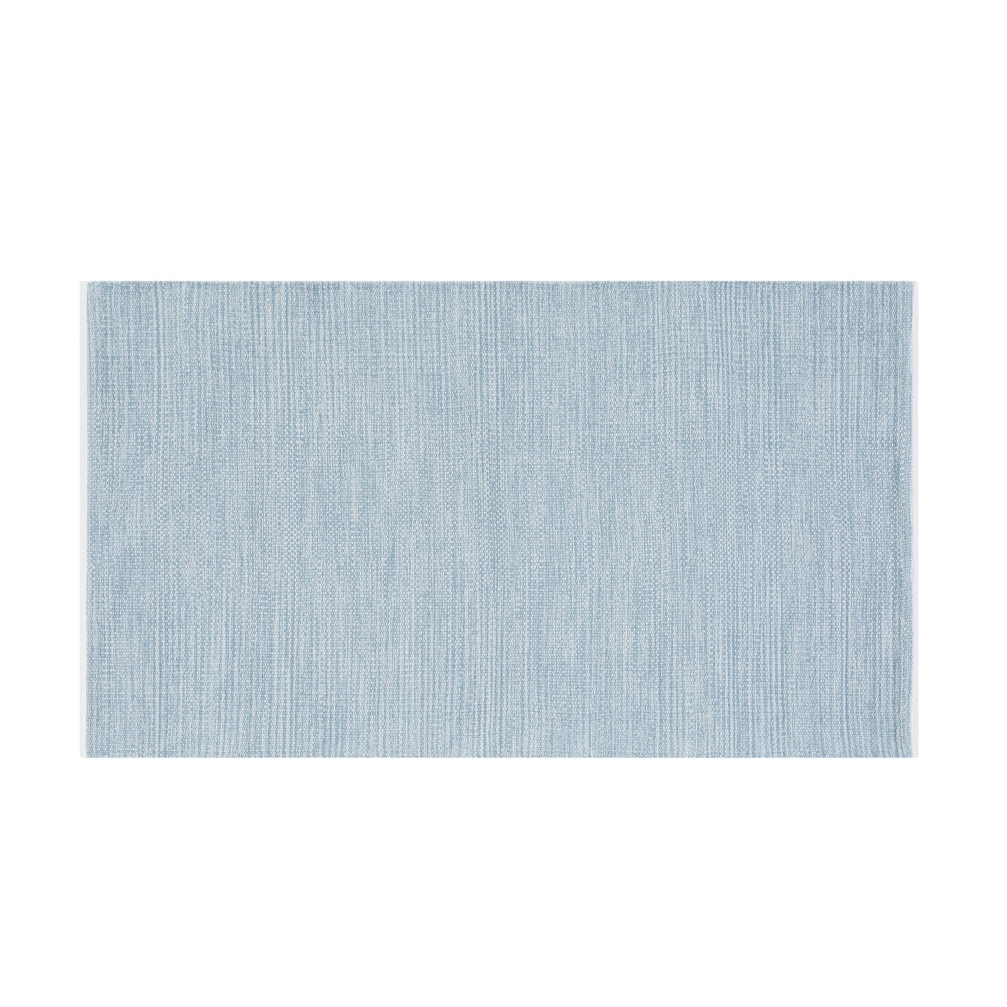 home loft concept handgewebter teppich derince in hellblau. Black Bedroom Furniture Sets. Home Design Ideas