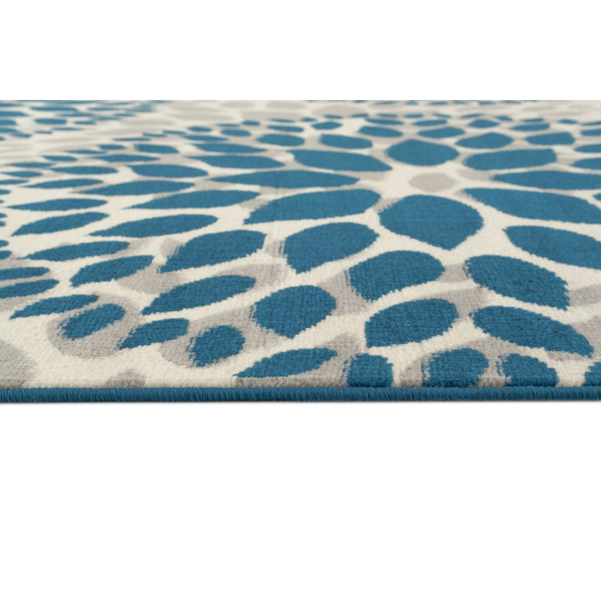 Throw Rugs At Dollar General: World Rug Gallery Newport Blue Area Rug & Reviews